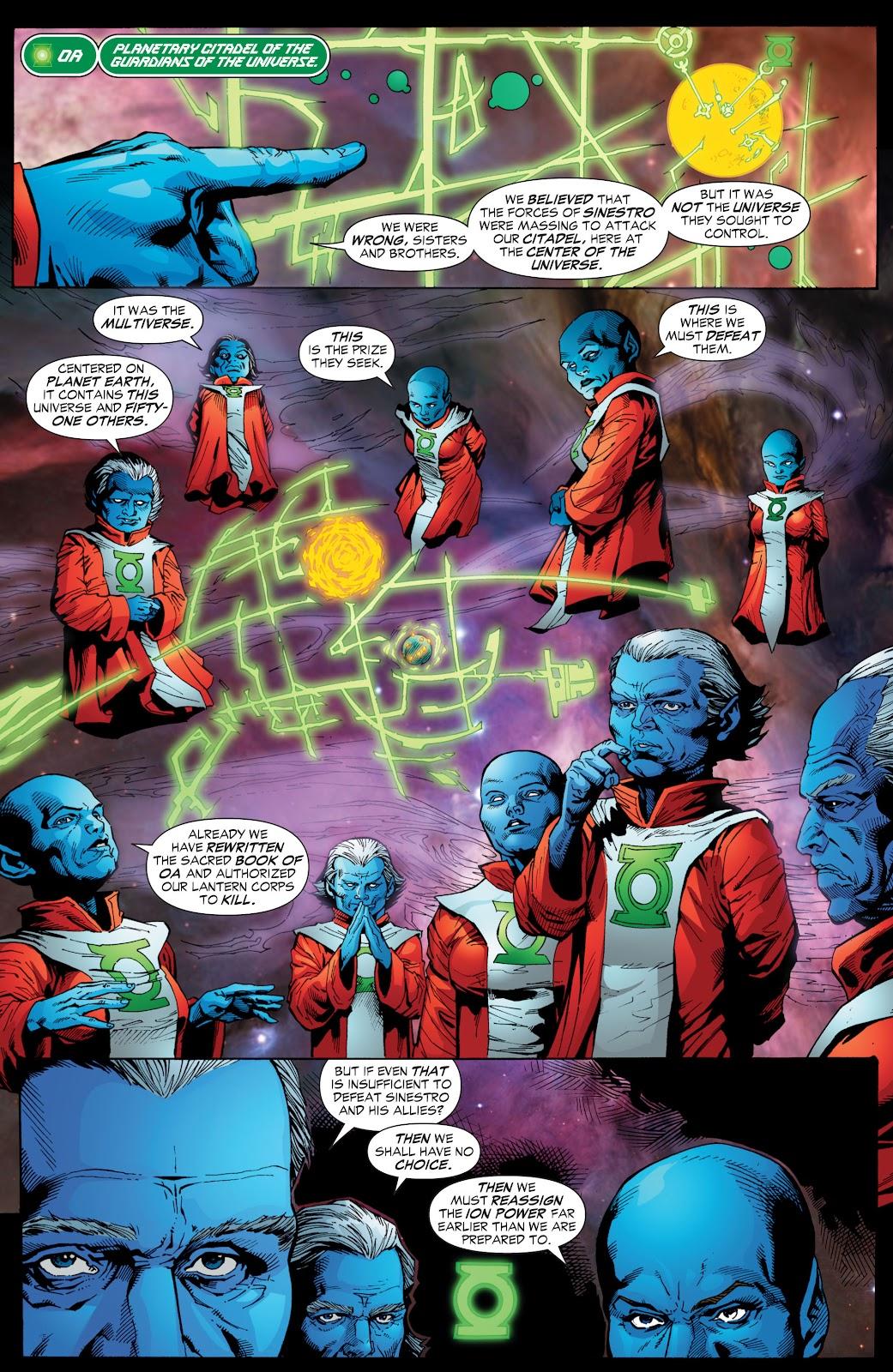 Green Lantern: The Sinestro Corps War Full #1 - English 202
