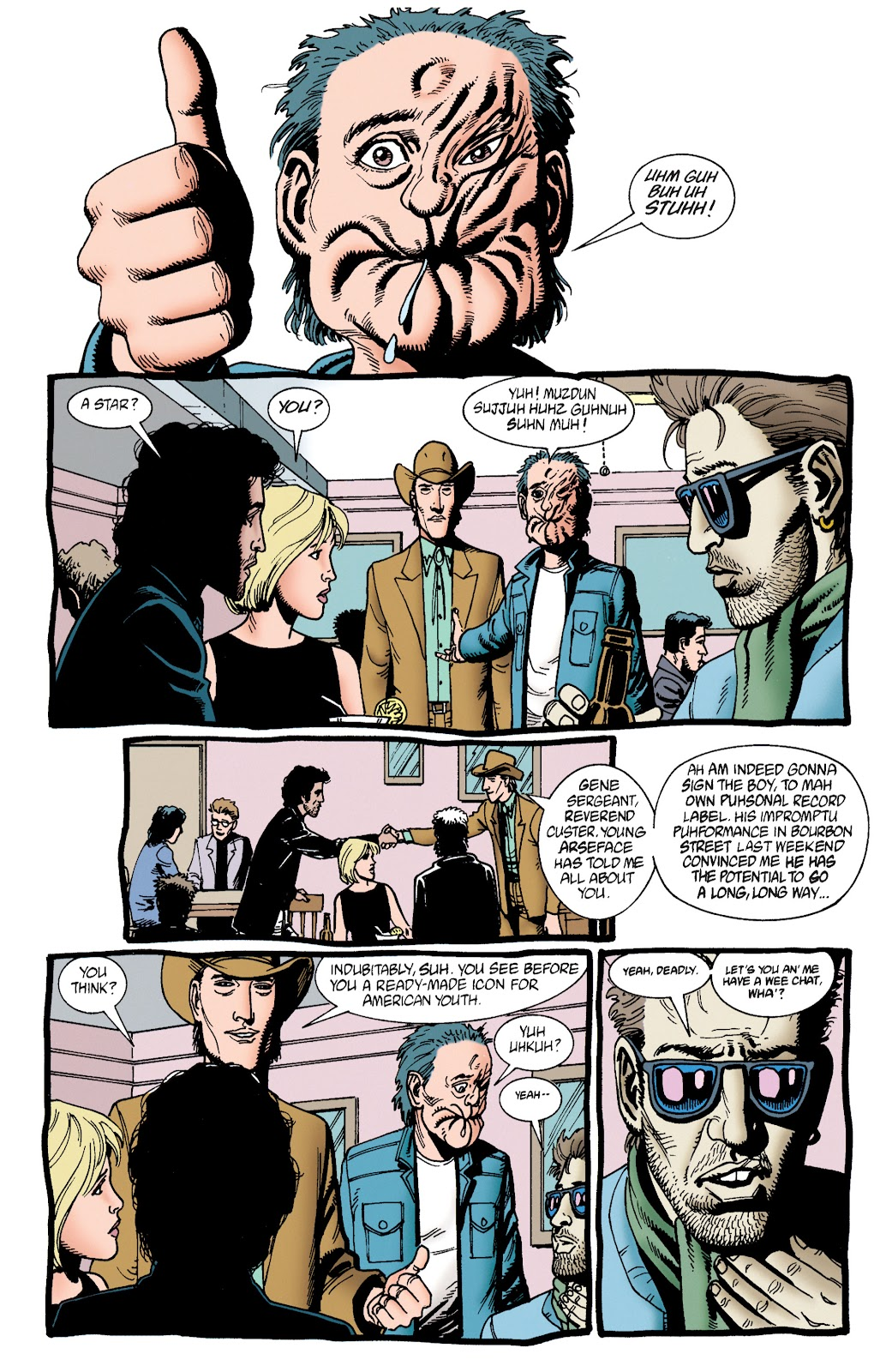 Preacher Issue #33 #42 - English 16
