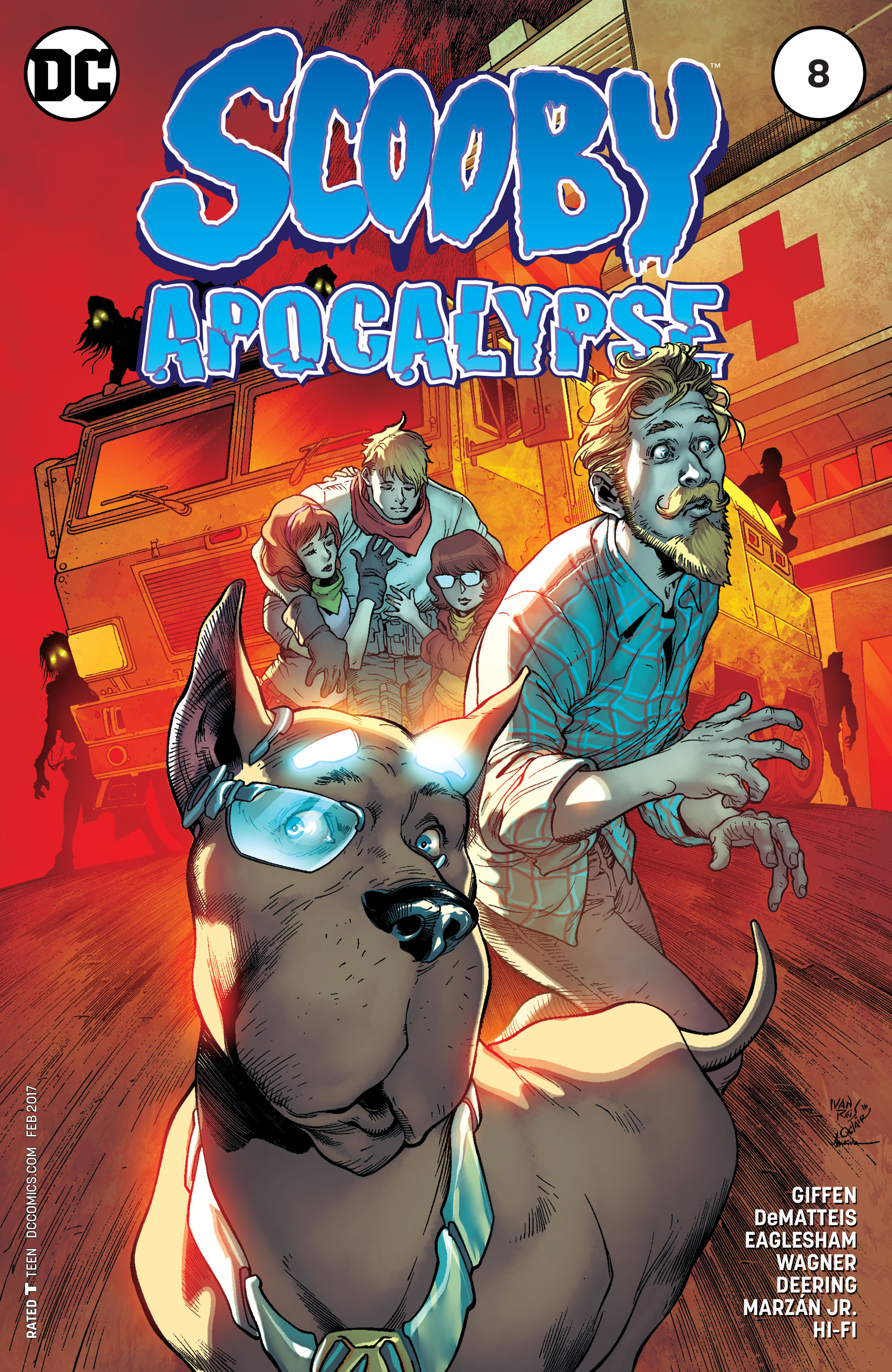 Read online Scooby Apocalypse comic -  Issue #8 - 3