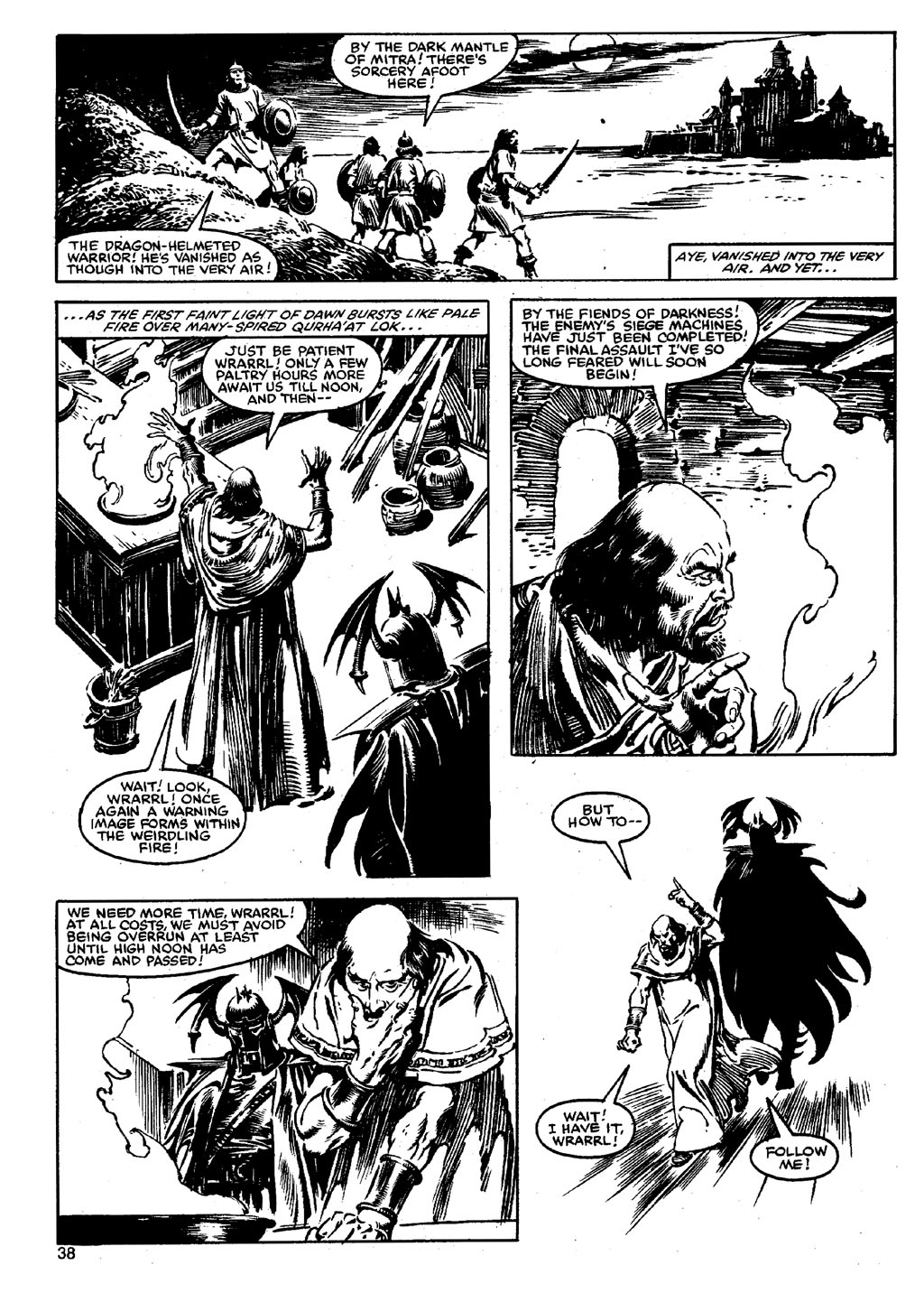 The Savage Sword Of Conan Issue #90 #91 - English 37