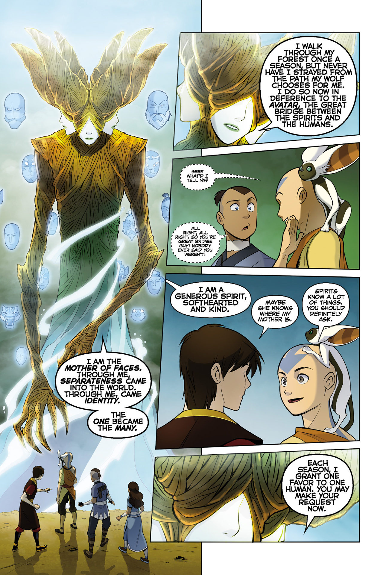 Read online Nickelodeon Avatar: The Last Airbender - The Search comic -  Issue # Part 3 - 13