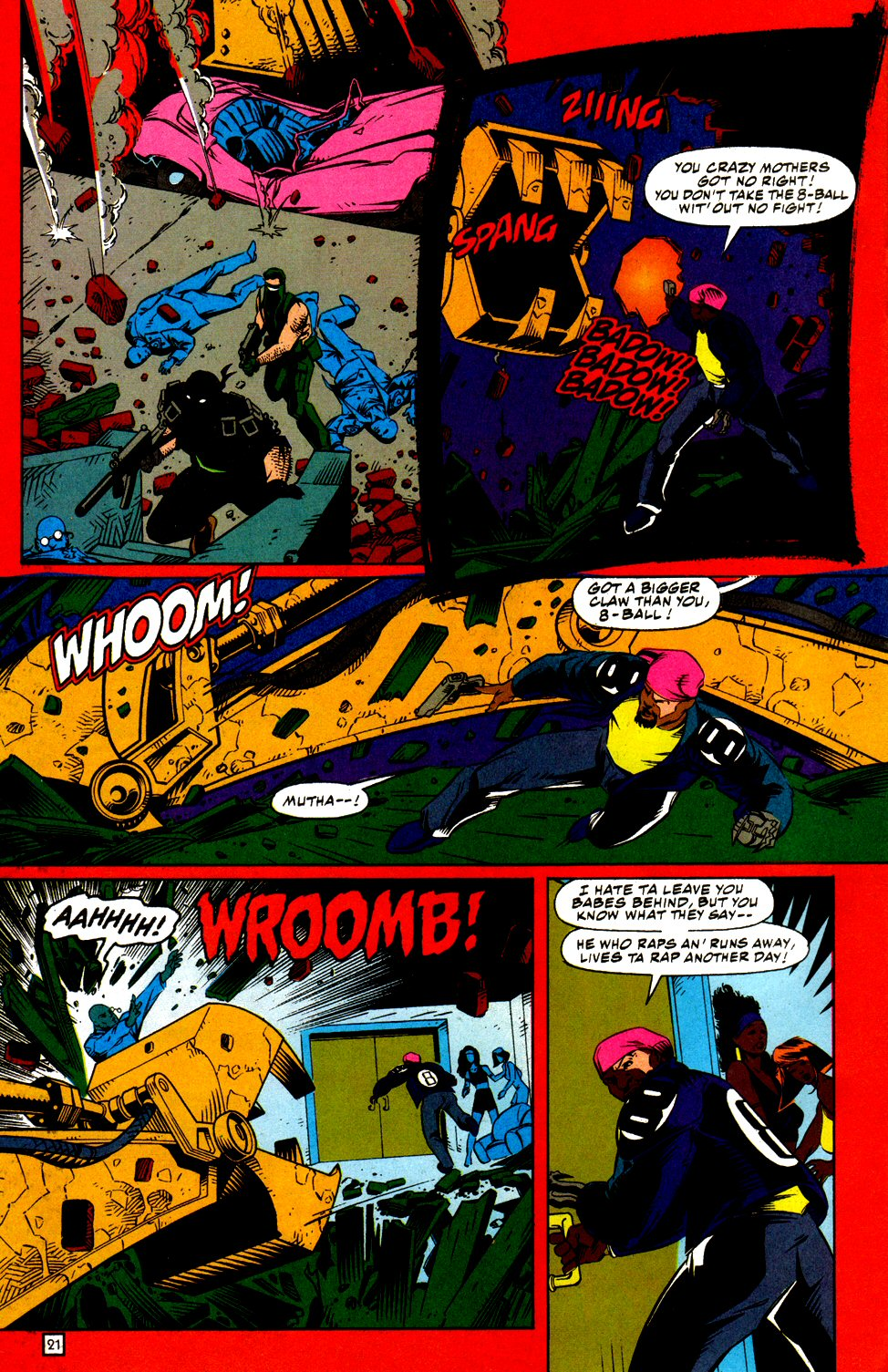 Chain Gang War 2 Page 21