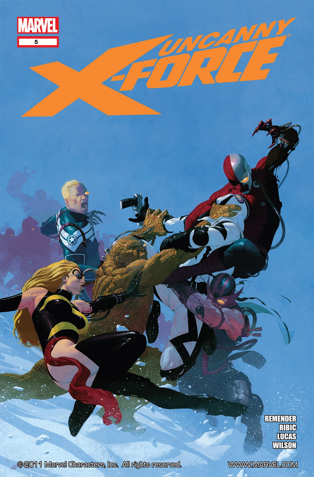 Uncanny X-Force (2010) Issue #5 #5 - English 1