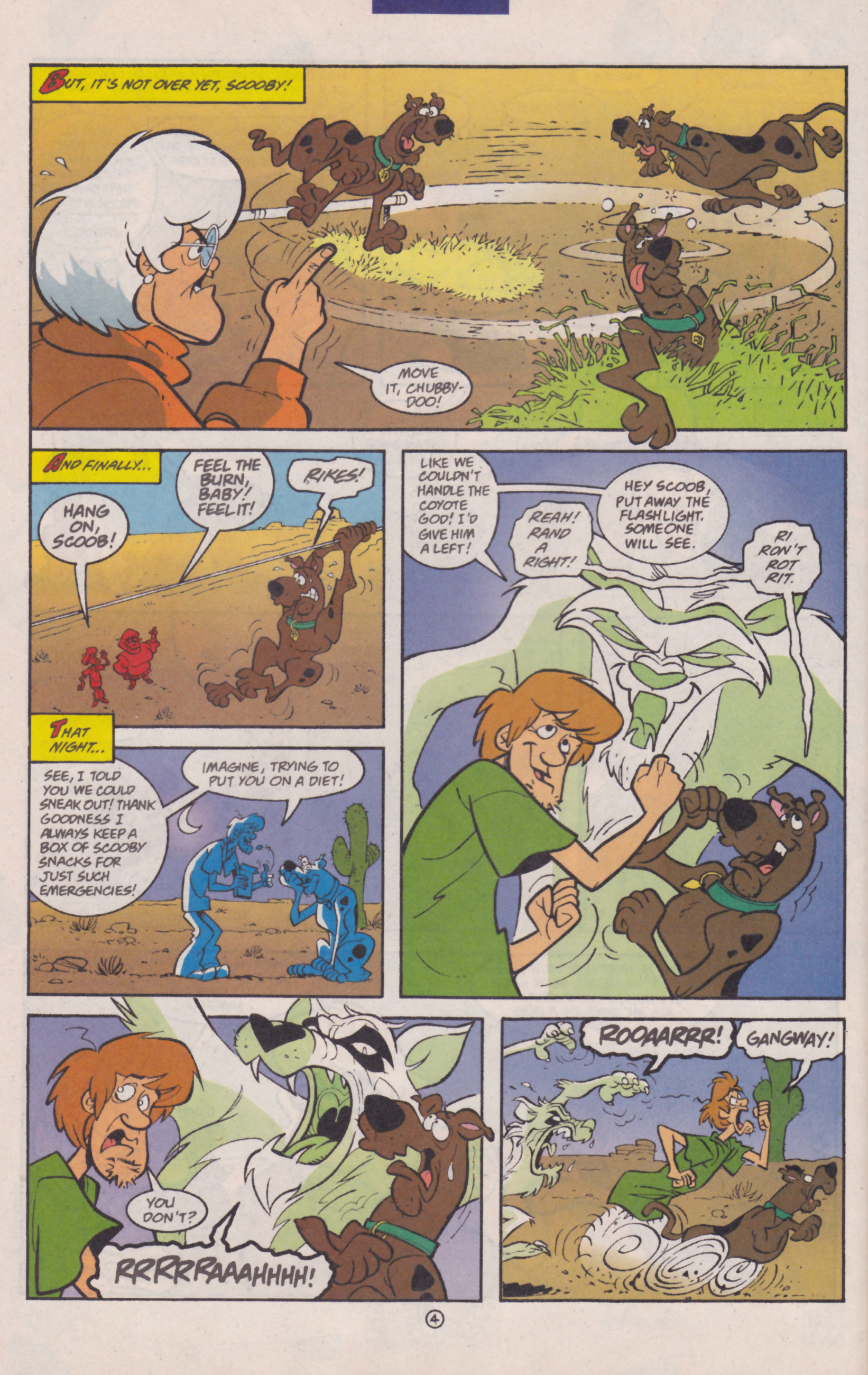 Read online Scooby-Doo (1997) comic -  Issue #30 - 17
