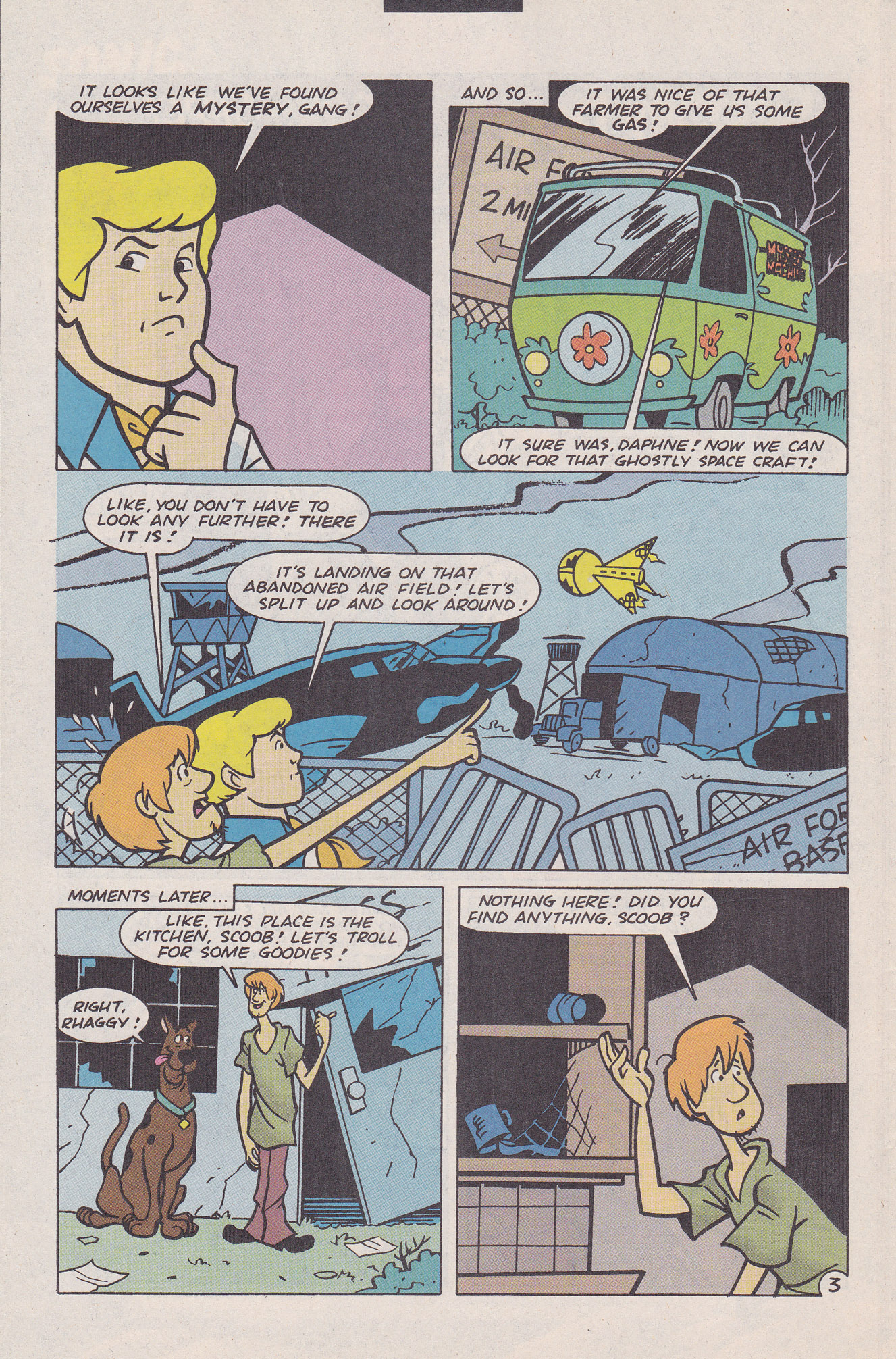 Read online Scooby-Doo (1995) comic -  Issue #20 - 28