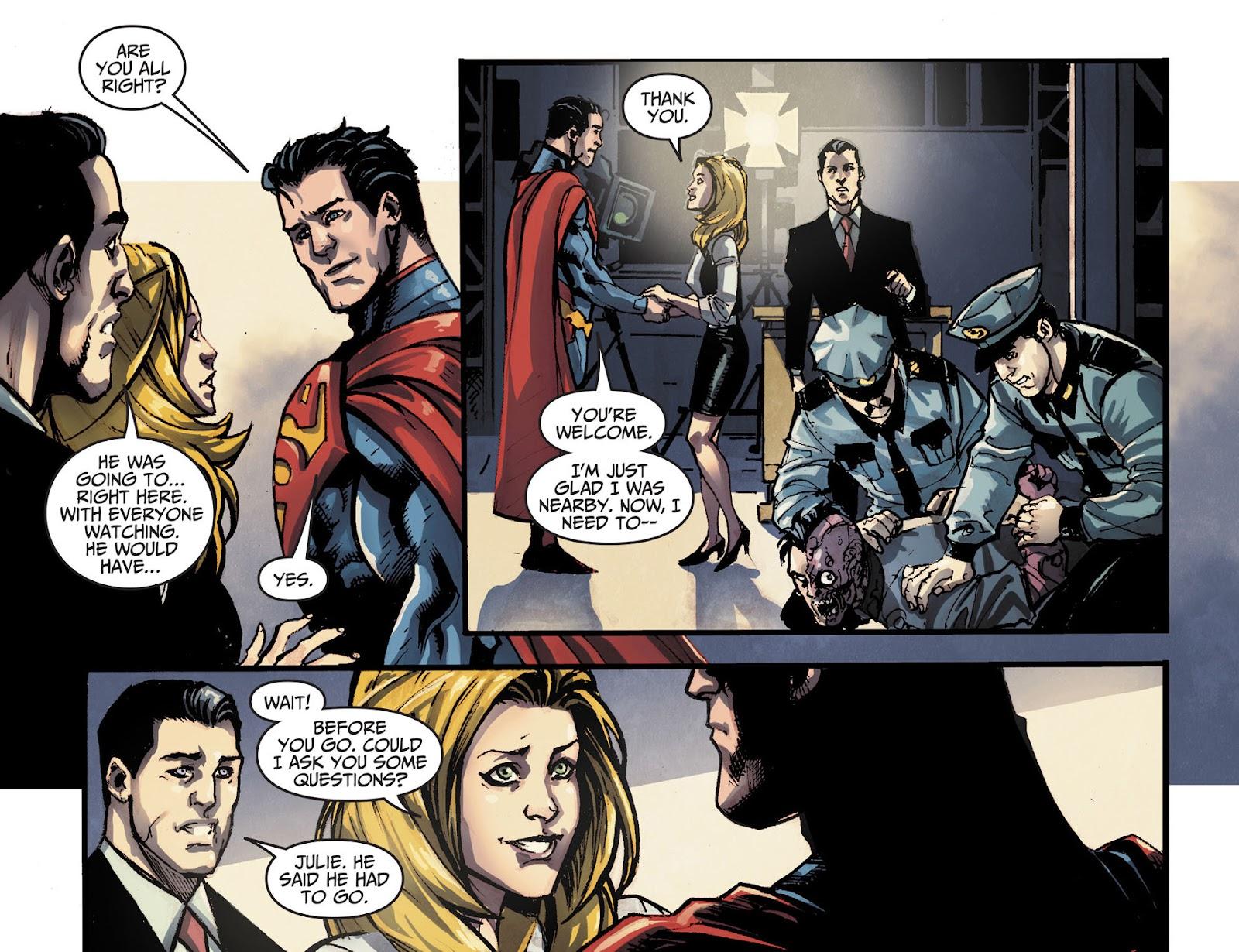 Injustice: Gods Among Us [I] Issue #14 #15 - English 11
