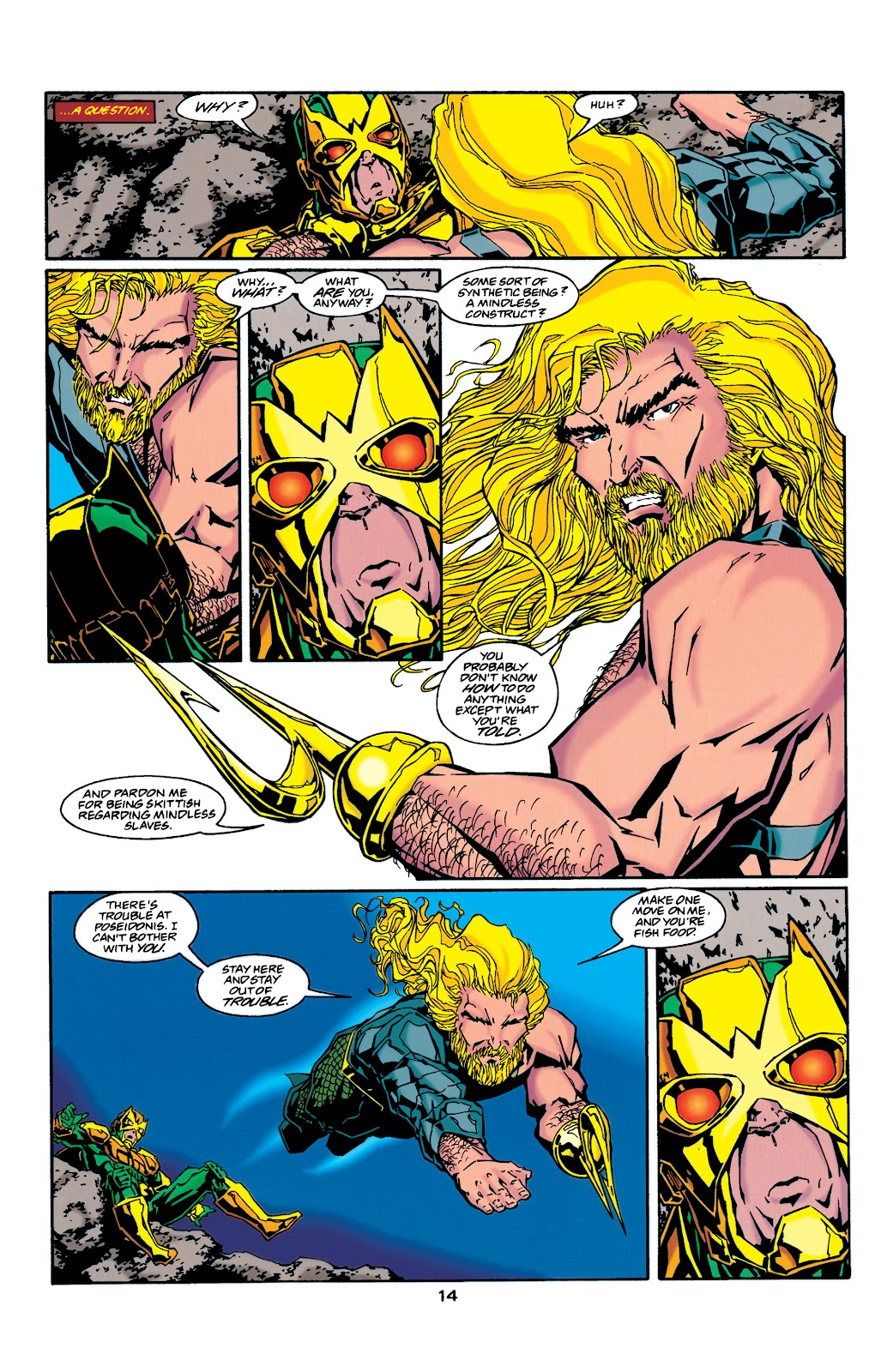 Aquaman (1994) Issue #37 #43 - English 14