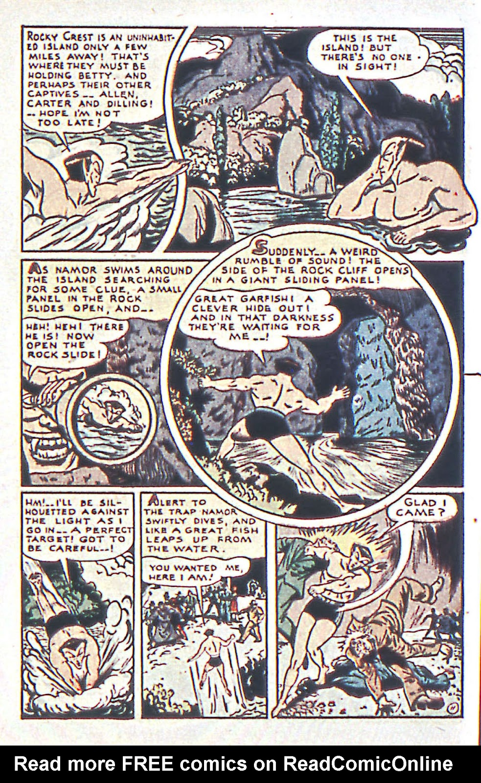 Sub-Mariner Comics Issue #16 #16 - English 13