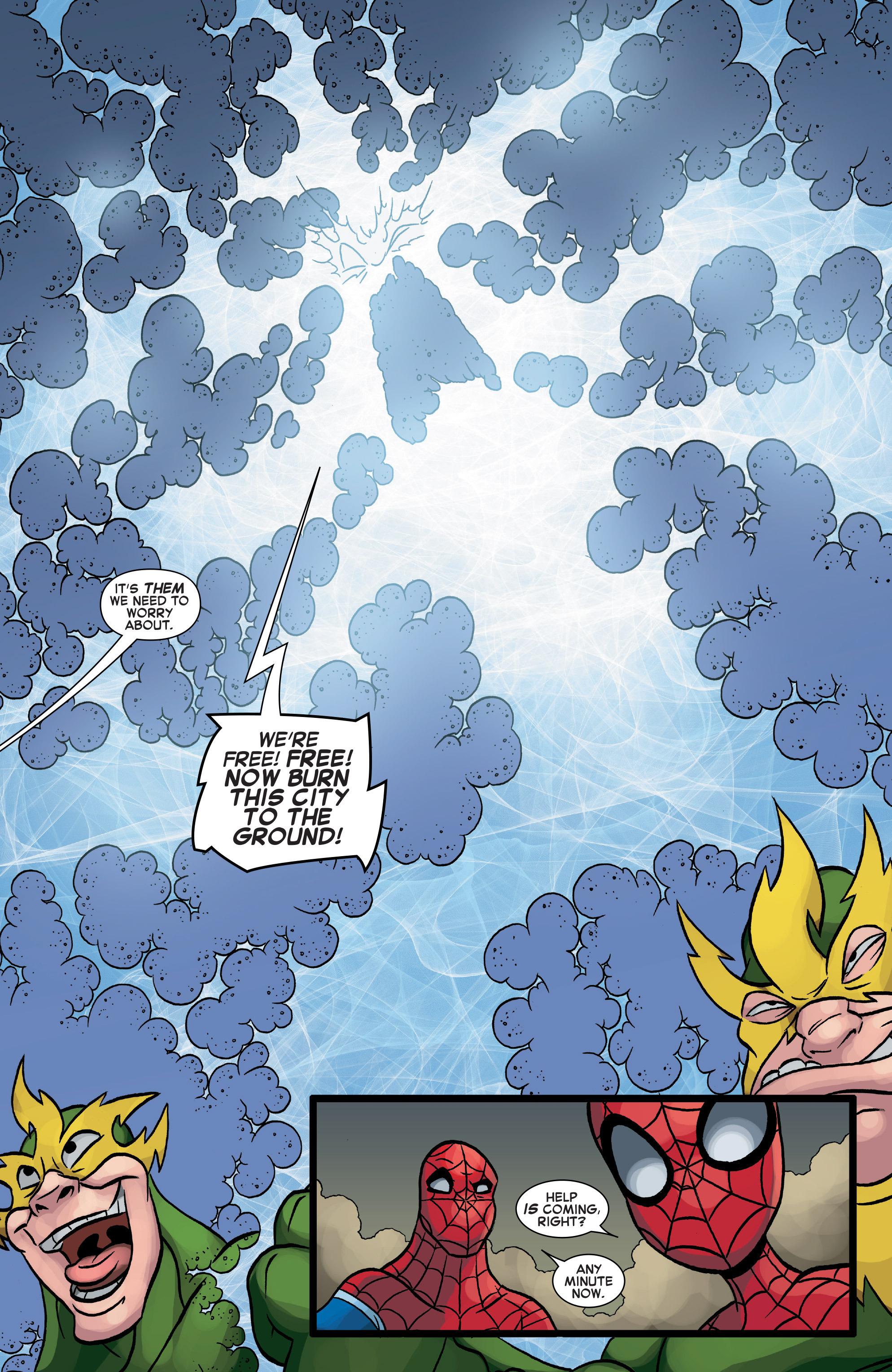 Read online Web Warriors comic -  Issue #10 - 8