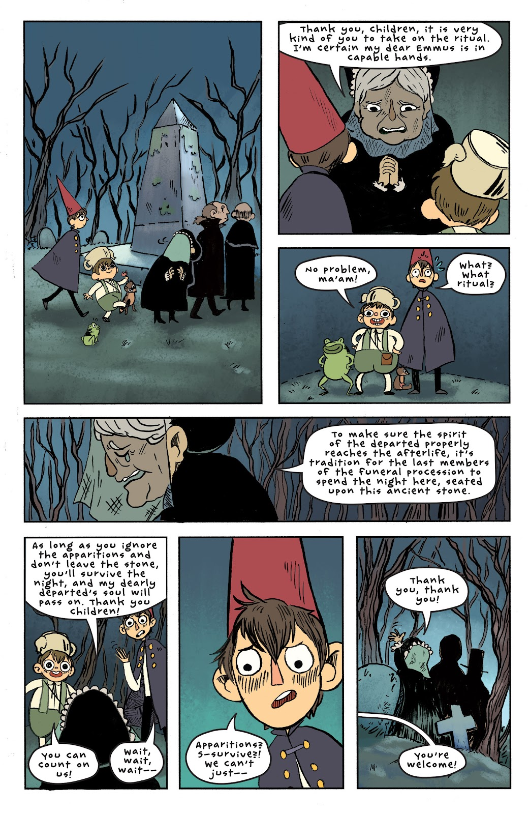 Over the Garden Wall (2016) Issue #6 #6 - English 15