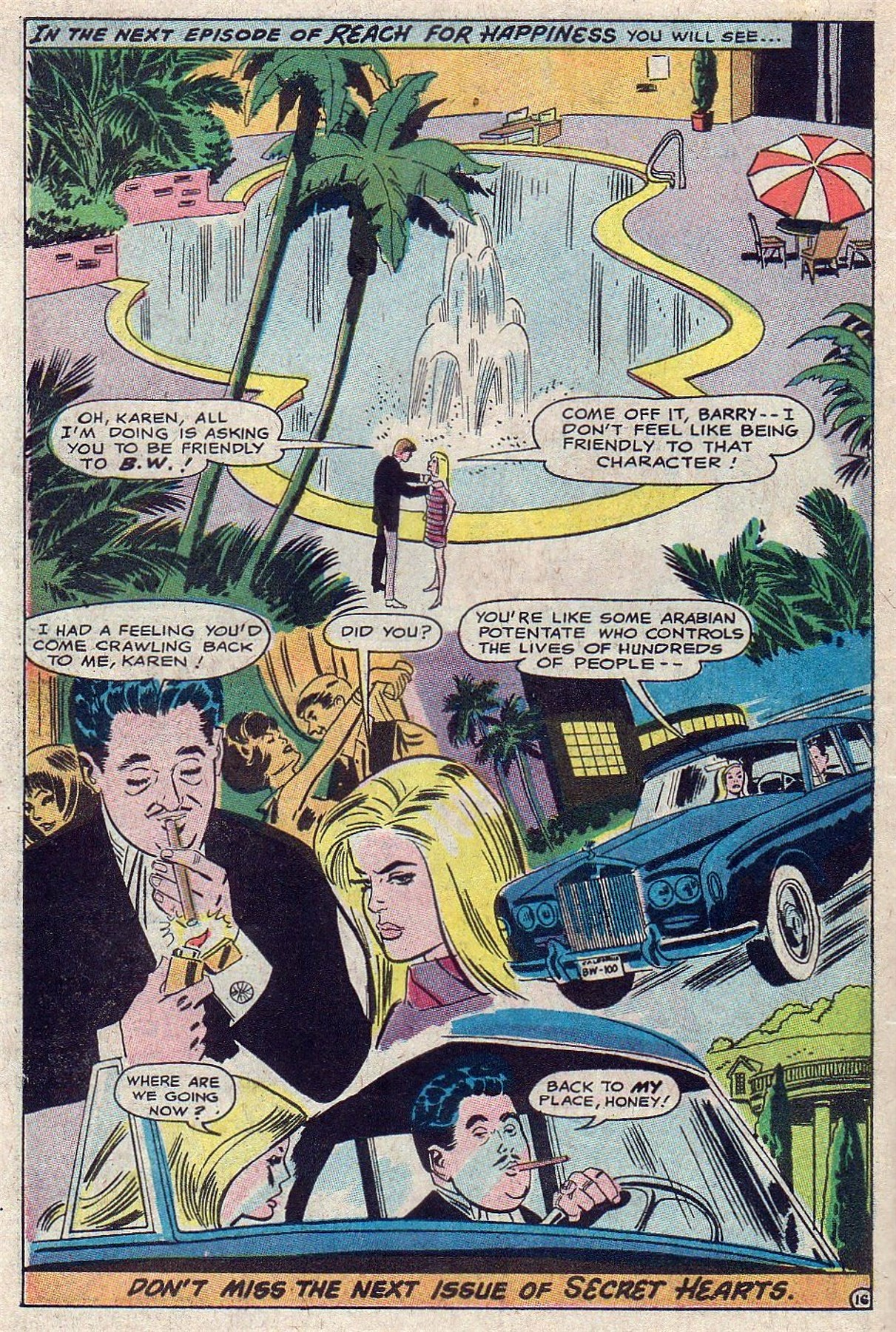 Read online Secret Hearts comic -  Issue #129 - 34