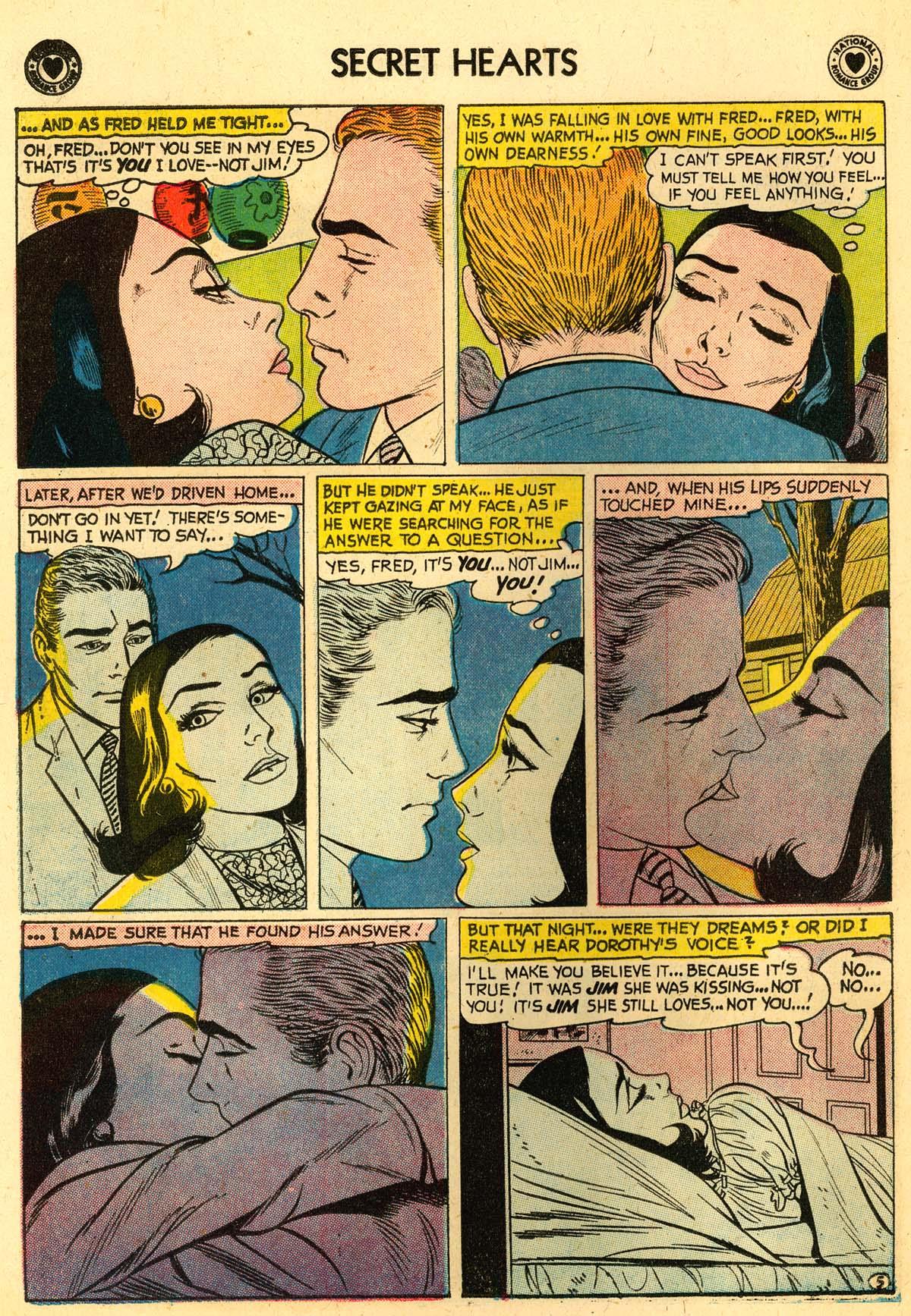 Read online Secret Hearts comic -  Issue #56 - 22