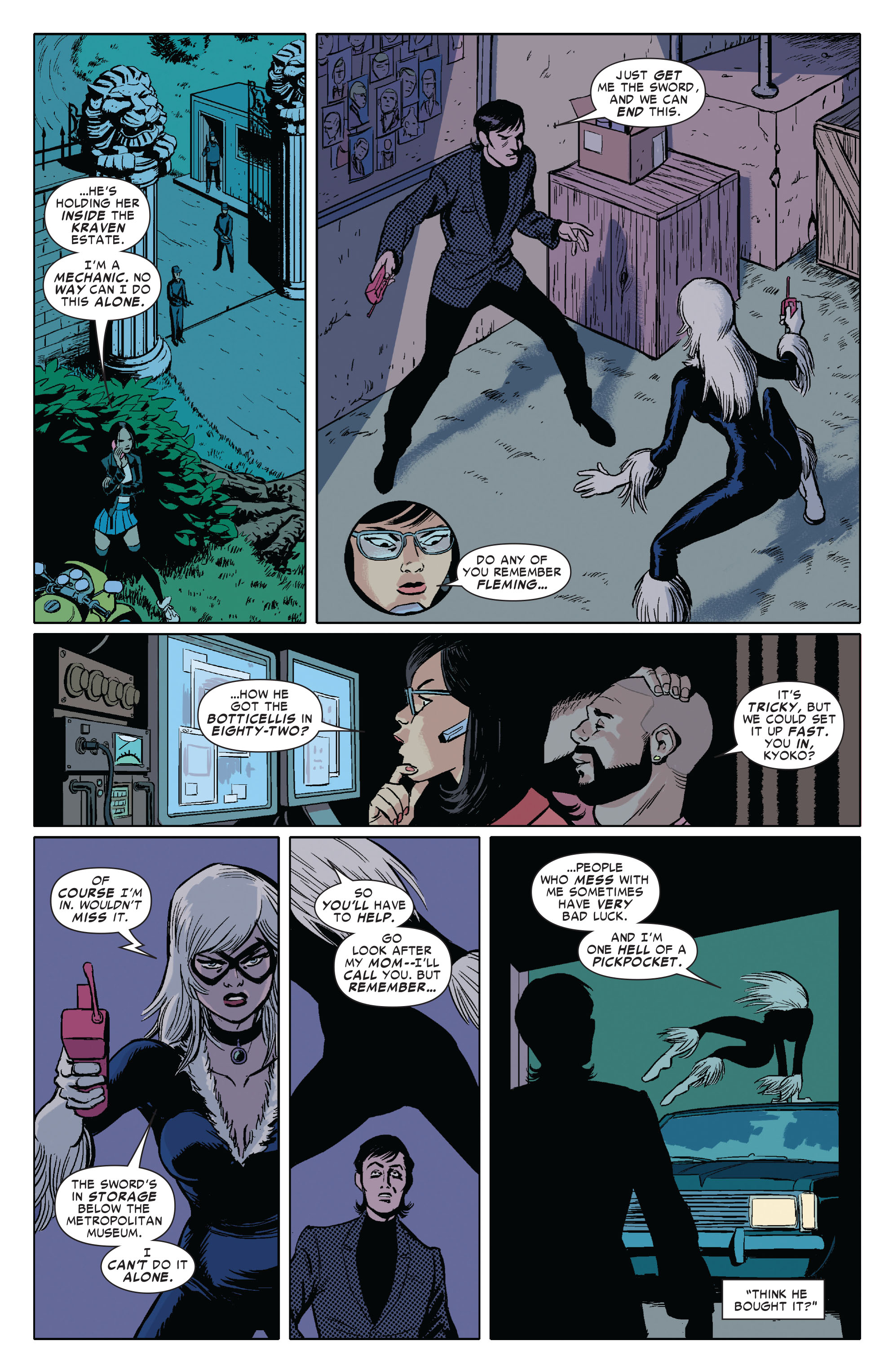 Amazing Spider-Man Presents: Black Cat 3 Page 6