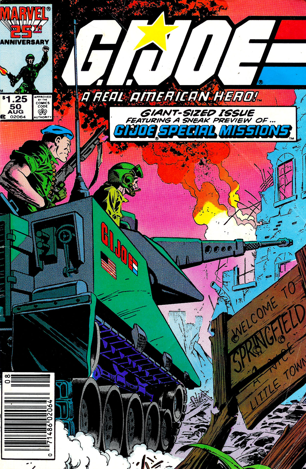 G.I. Joe: A Real American Hero 50 Page 1