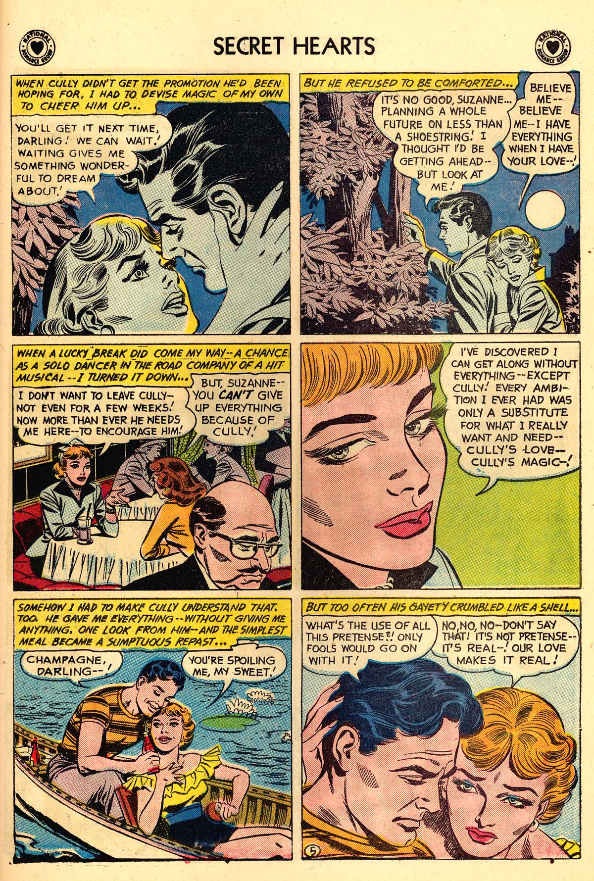Read online Secret Hearts comic -  Issue #59 - 31