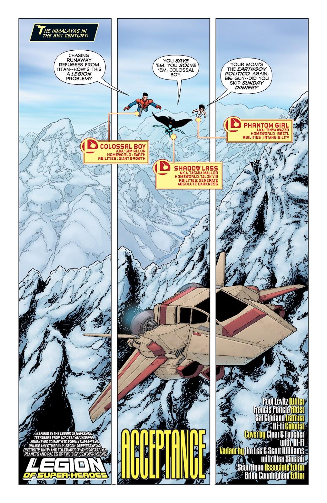 Legion of Super-Heroes (2010) Issue #6 #7 - English 3