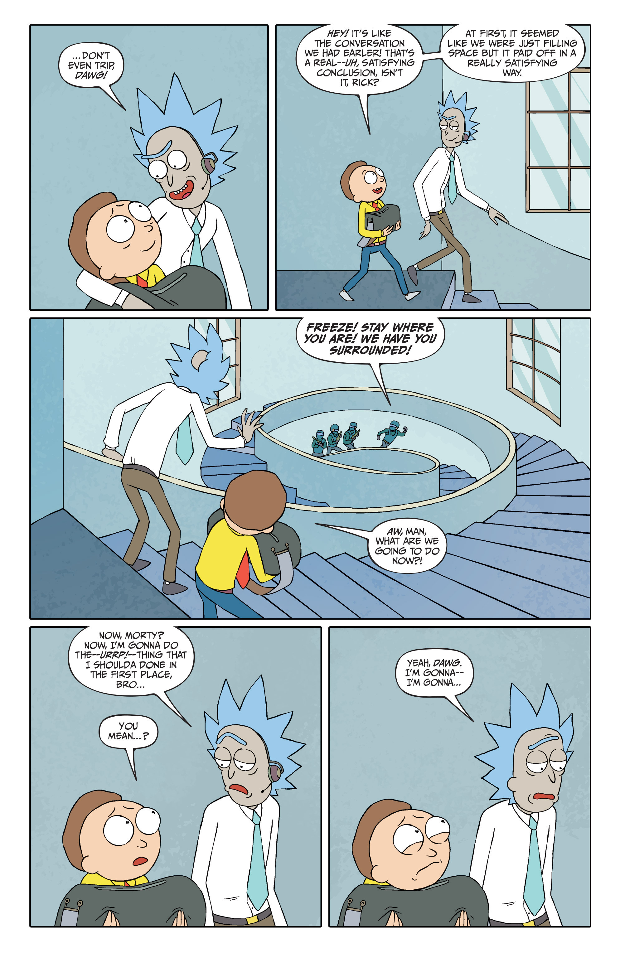 Rick and Morty #34 - Read Rick and Morty Issue #34 Page 17