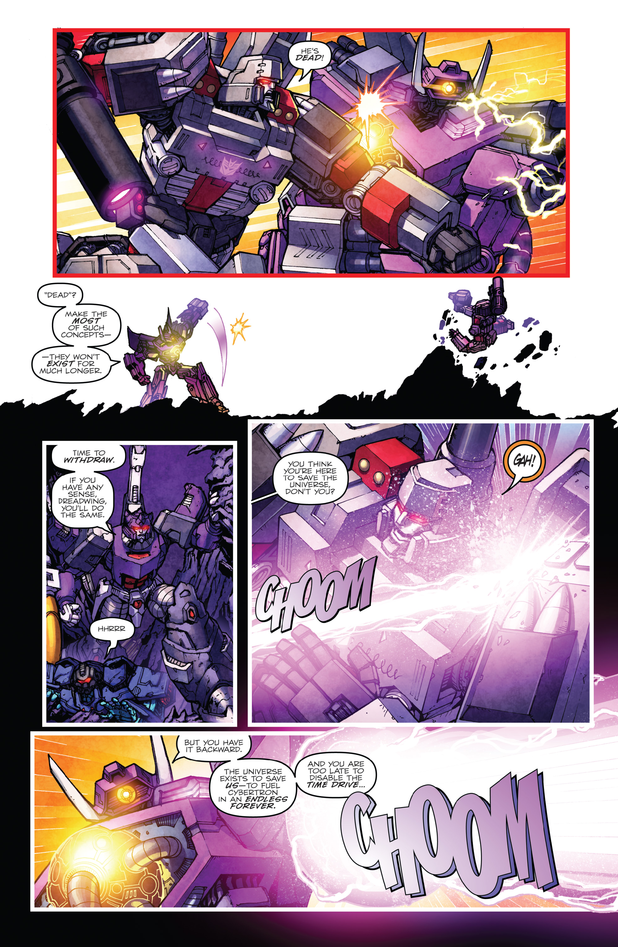Read online The Transformers: Dark Cybertron Finale comic -  Issue # Full - 120