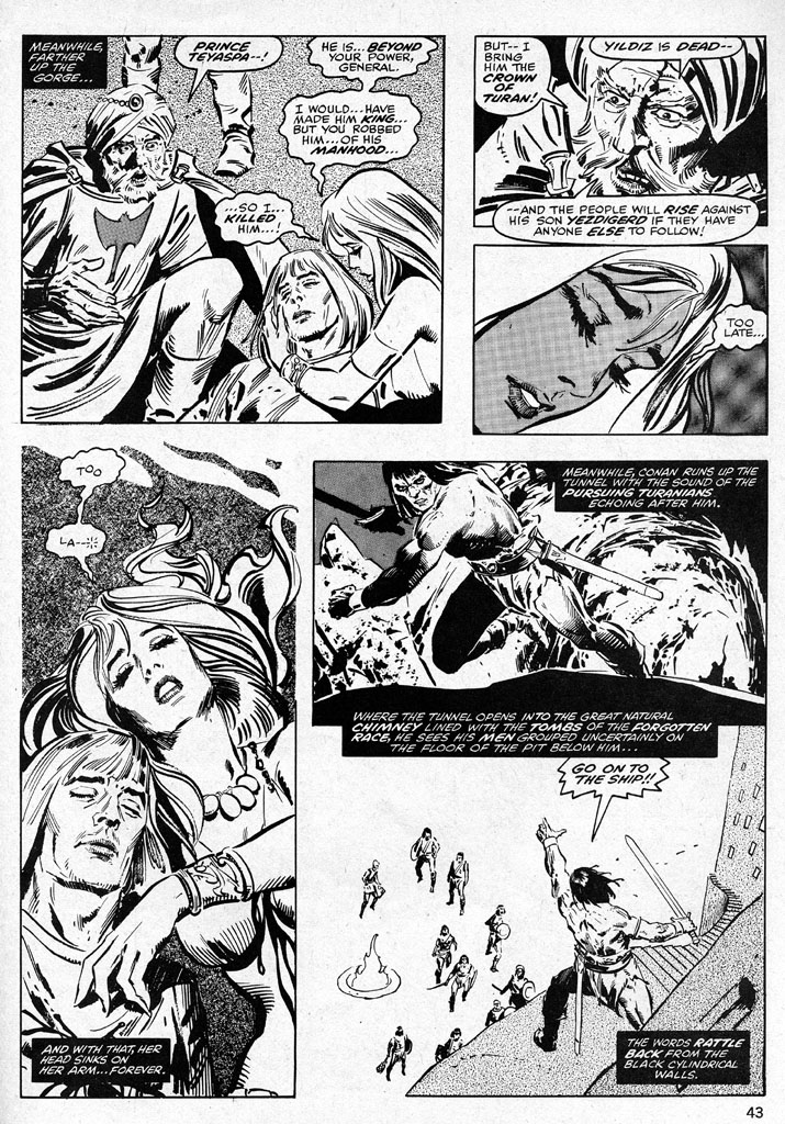 The Savage Sword Of Conan Issue #38 #39 - English 43