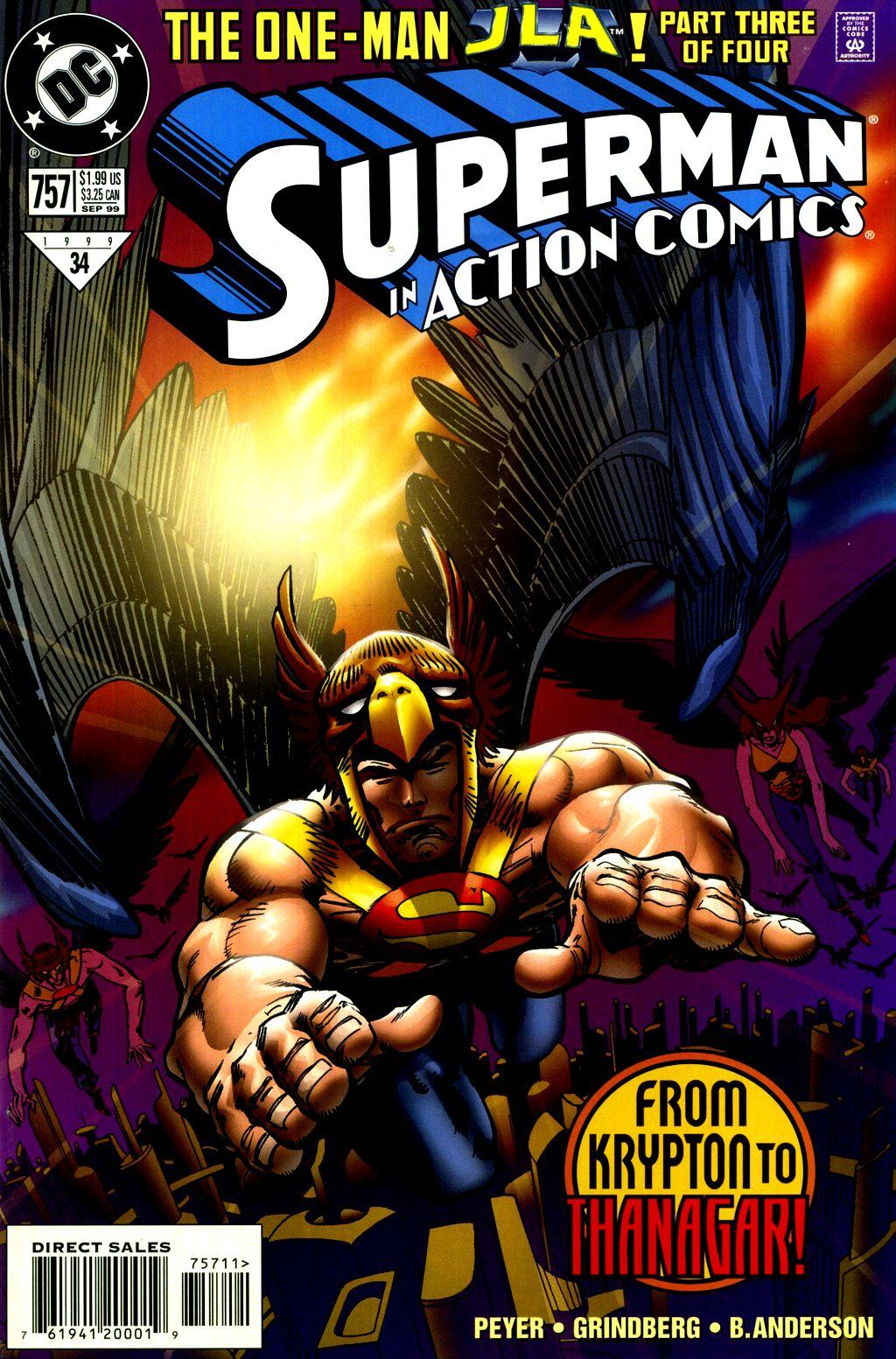 Action Comics (1938) 757 Page 1
