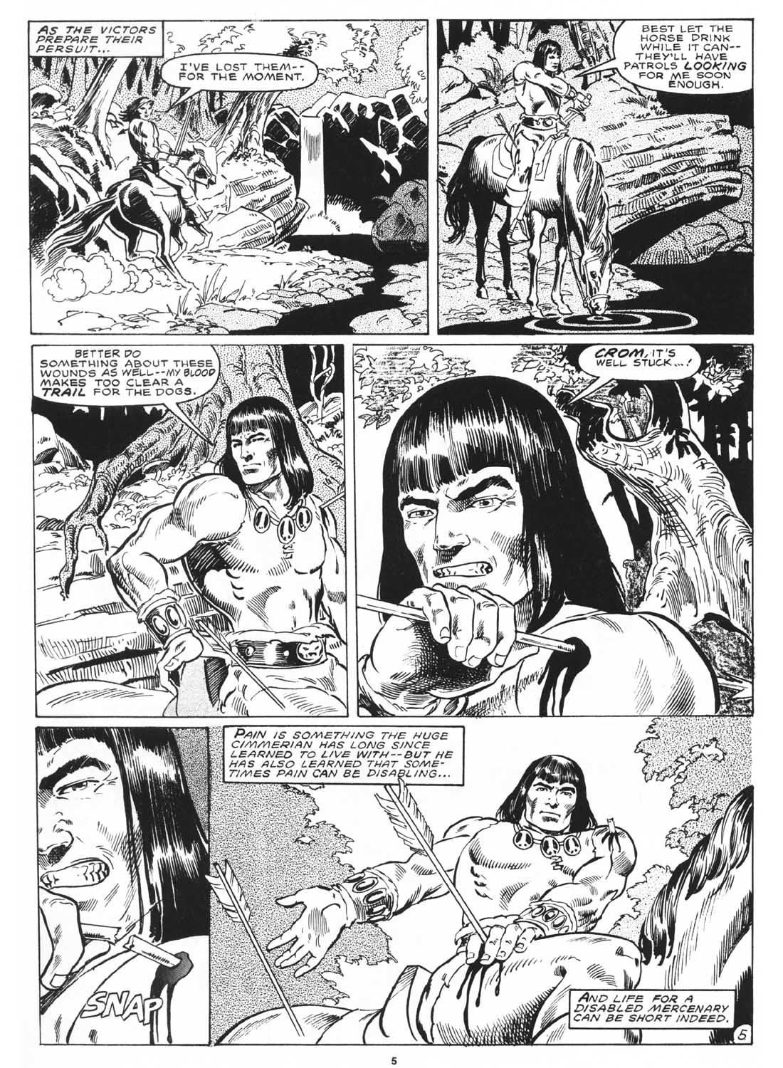 The Savage Sword Of Conan Issue #171 #172 - English 7