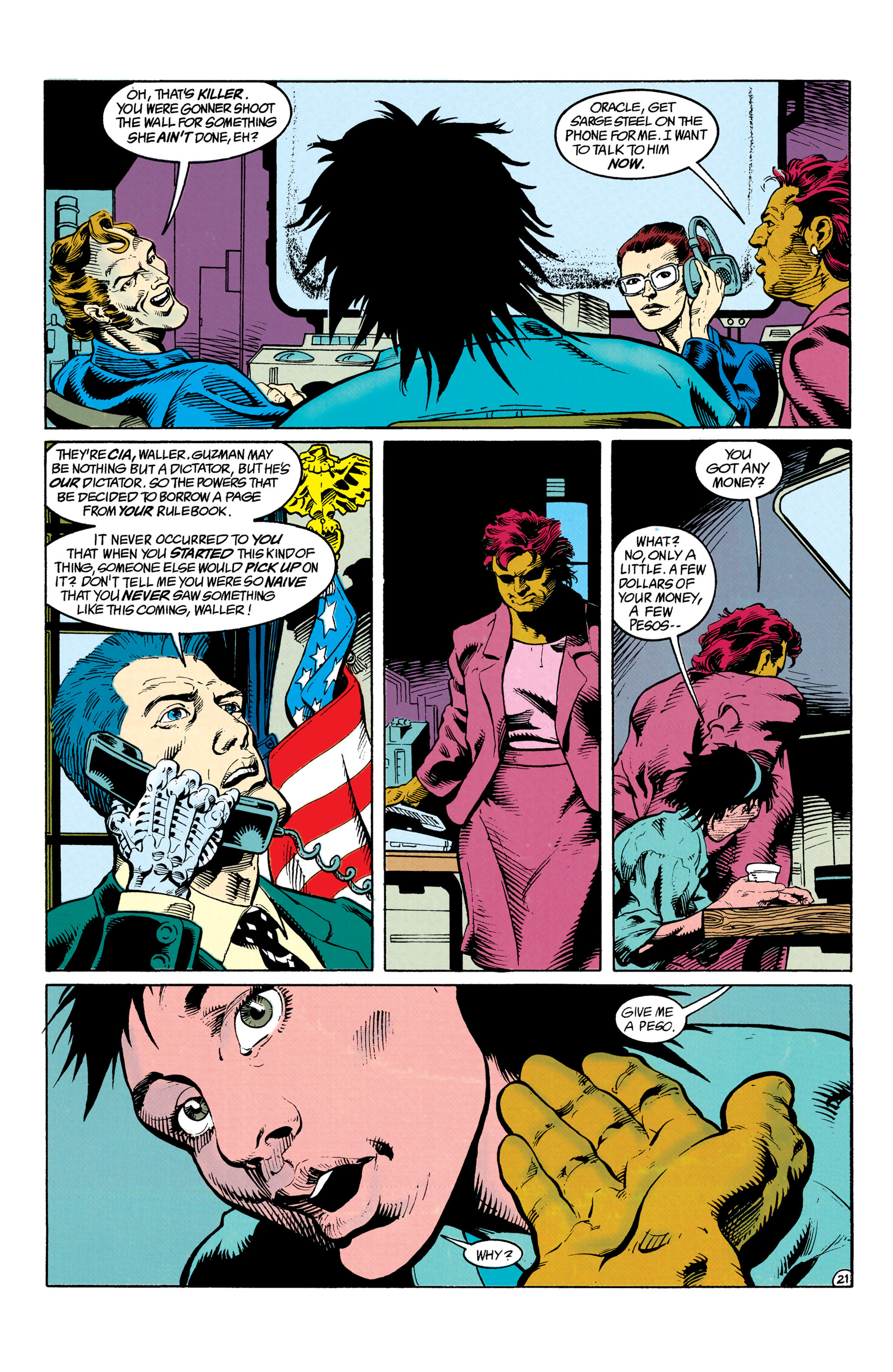 Read online Suicide Squad (1987) comic -  Issue #63 - 22