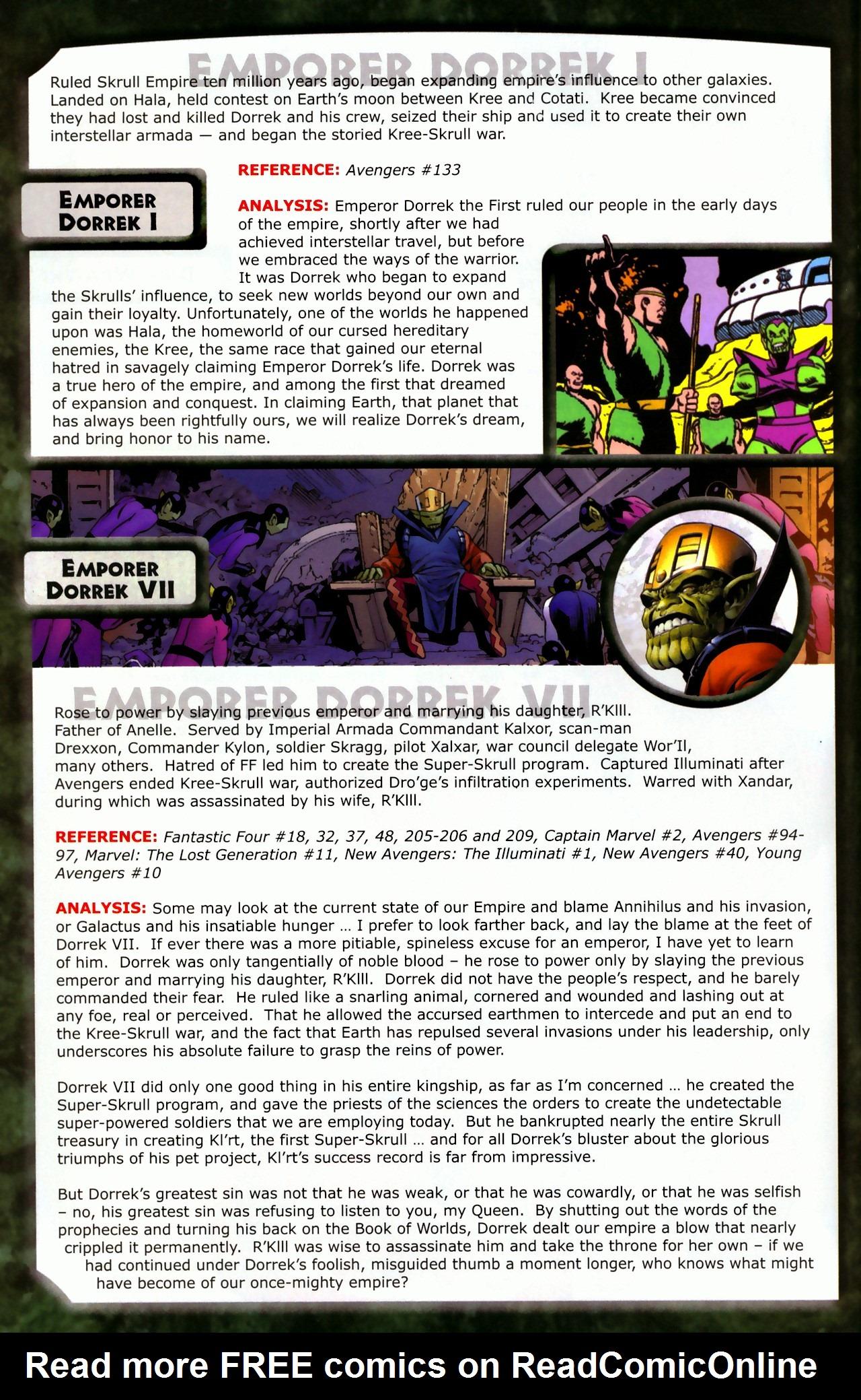 Read online Skrulls! comic -  Issue # Full - 14