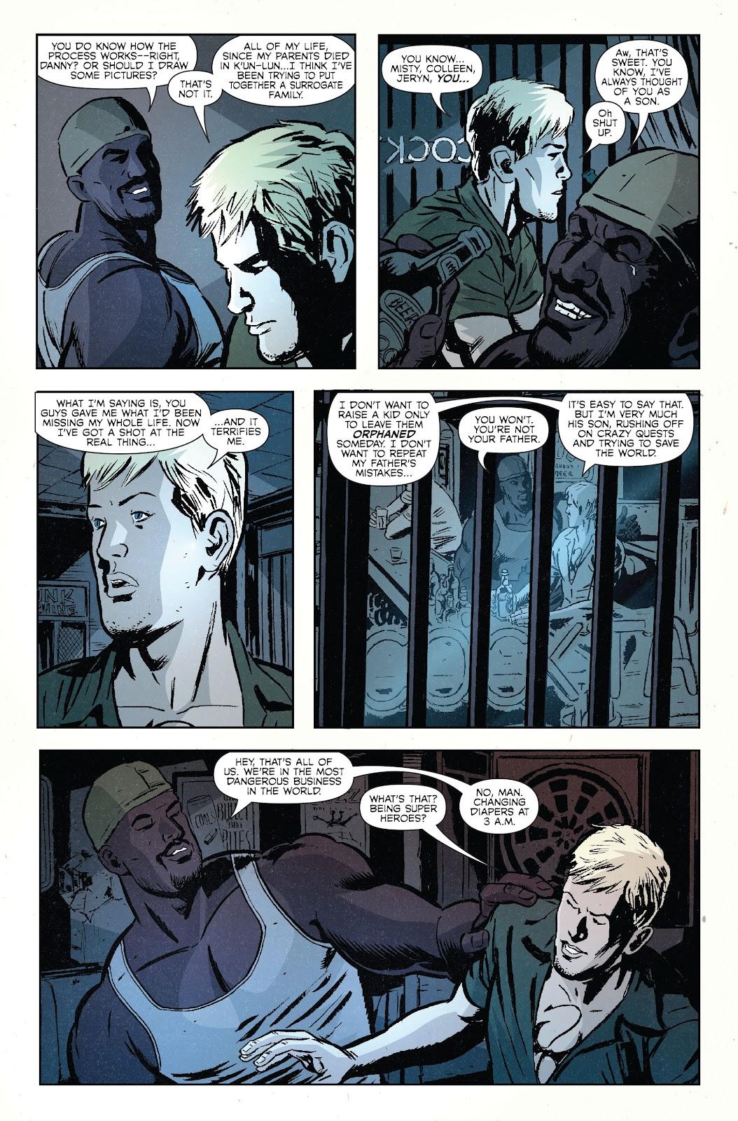 The Immortal Iron Fist Issue #27 #28 - English 25