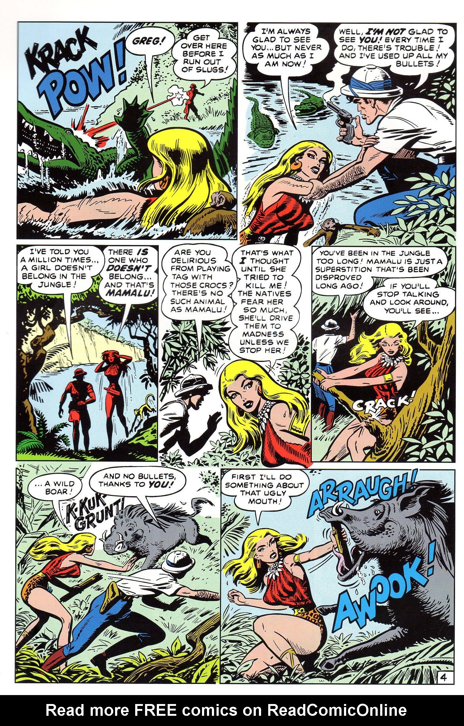 Read online Lorna, The Jungle Queen comic -  Issue #5 - 5