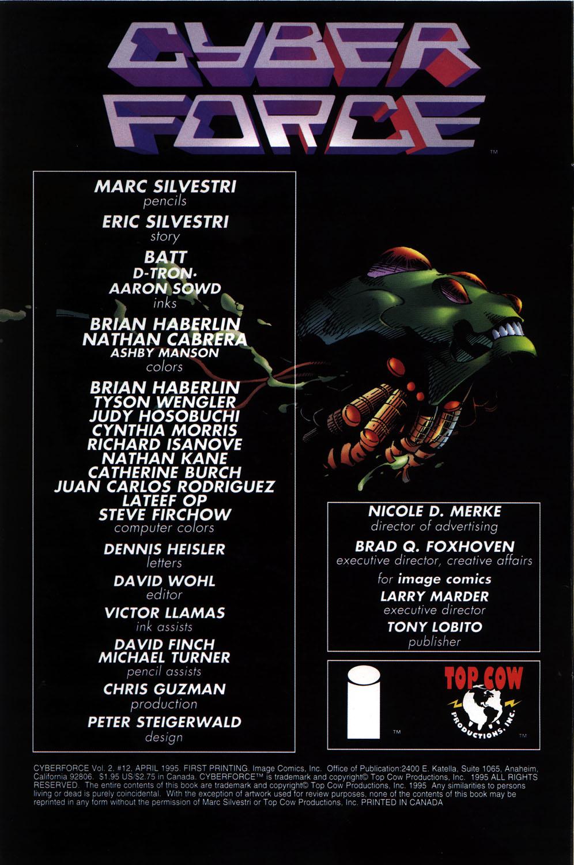 Cyberforce (1993) 12 Page 1