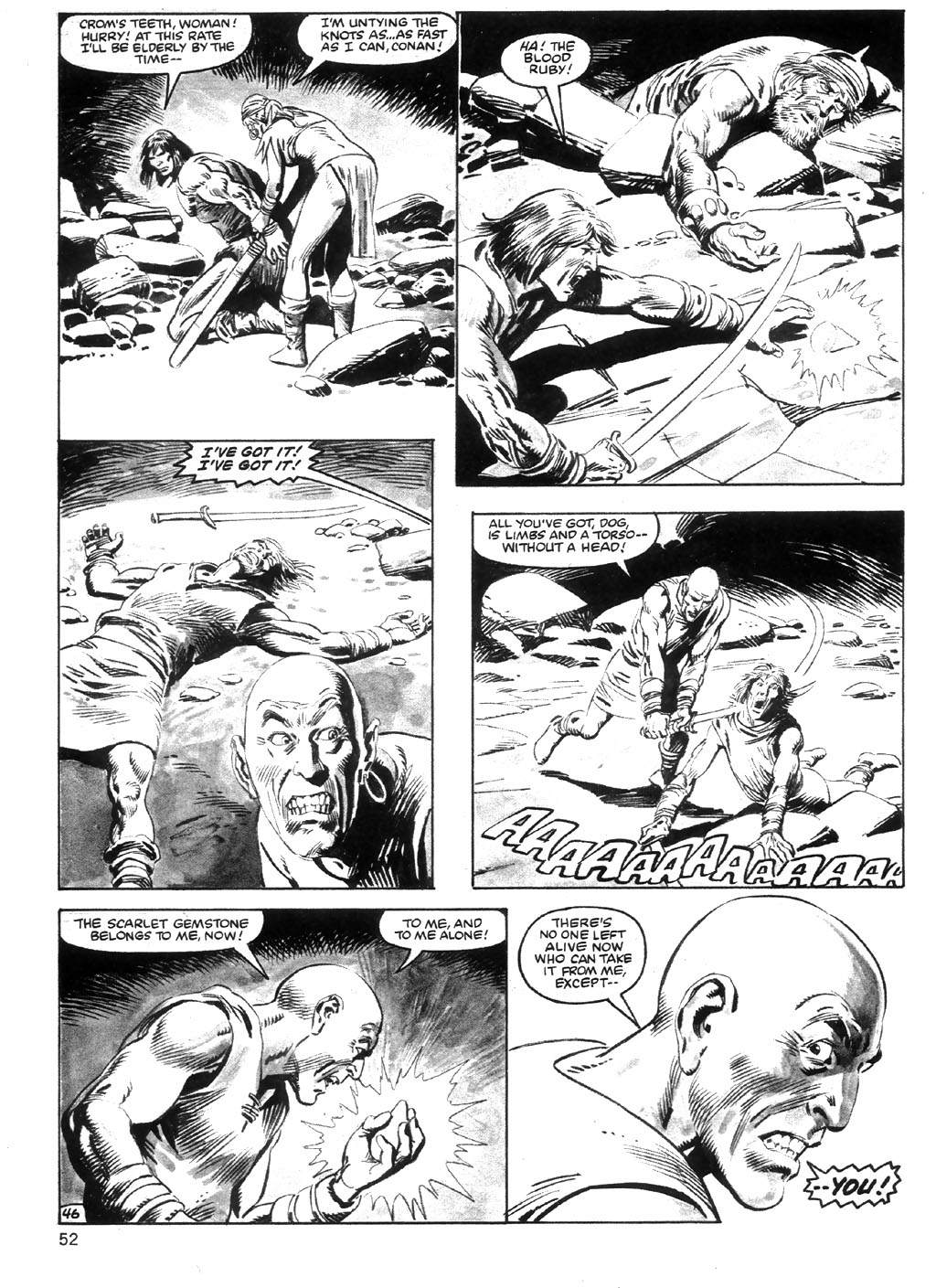 The Savage Sword Of Conan Issue #98 #99 - English 52