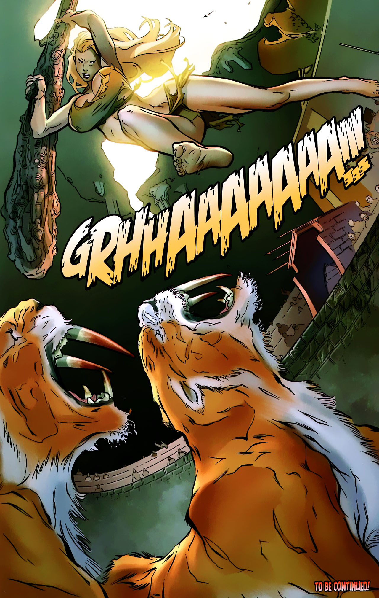 Read online Shanna the She-Devil: Survival of the Fittest comic -  Issue #2 - 23