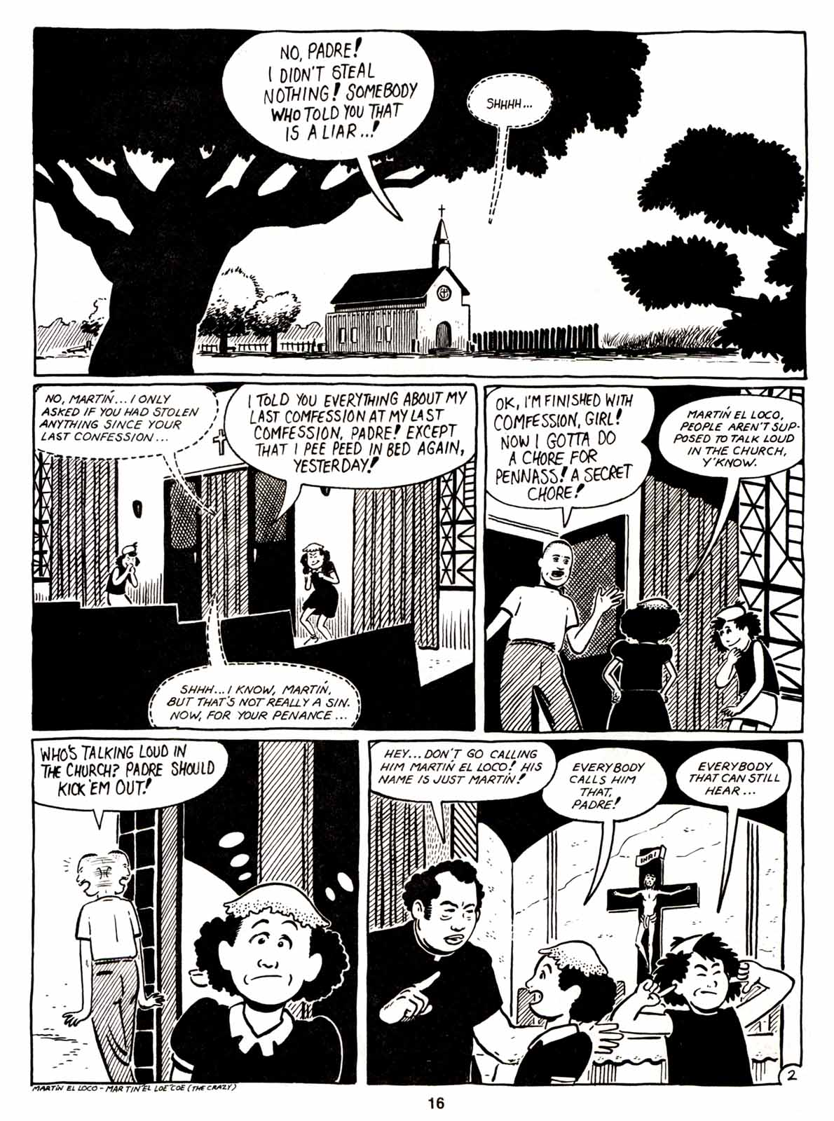 Love and Rockets (1982) Issue #5 #4 - English 18