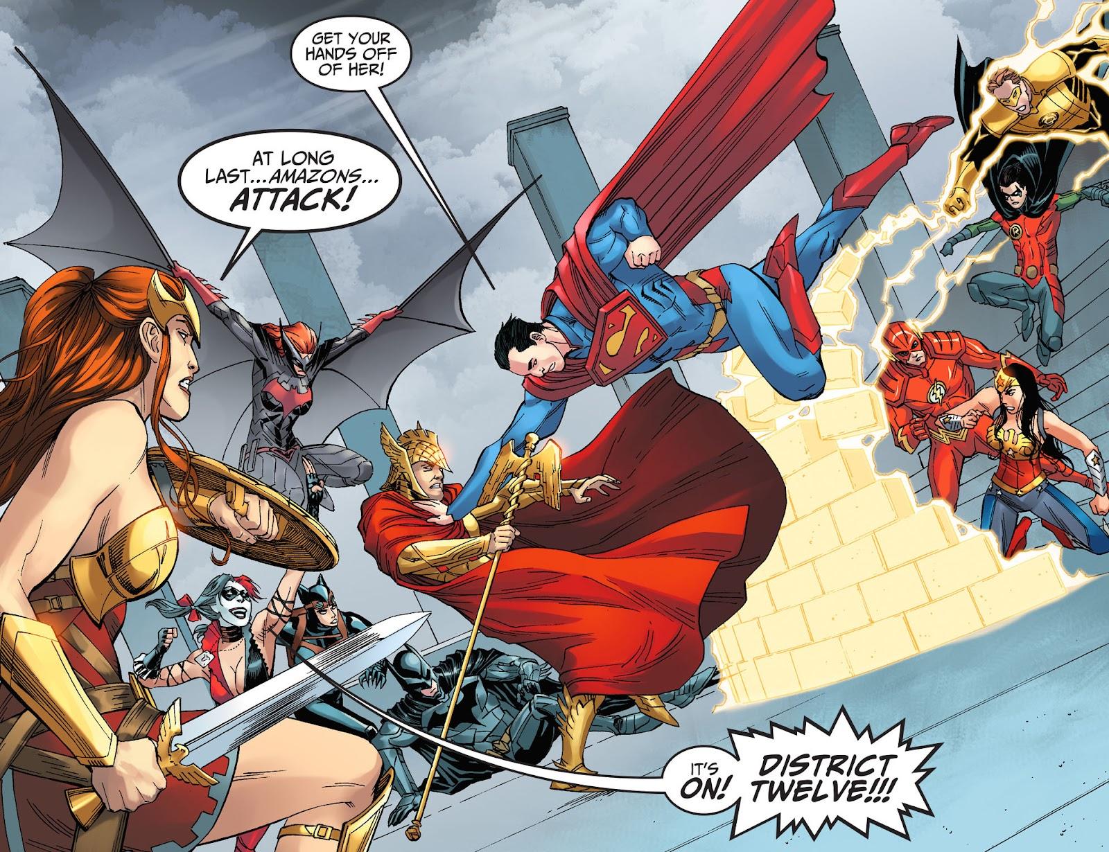 Injustice: Gods Among Us Year Four Issue #8 #9 - English 12