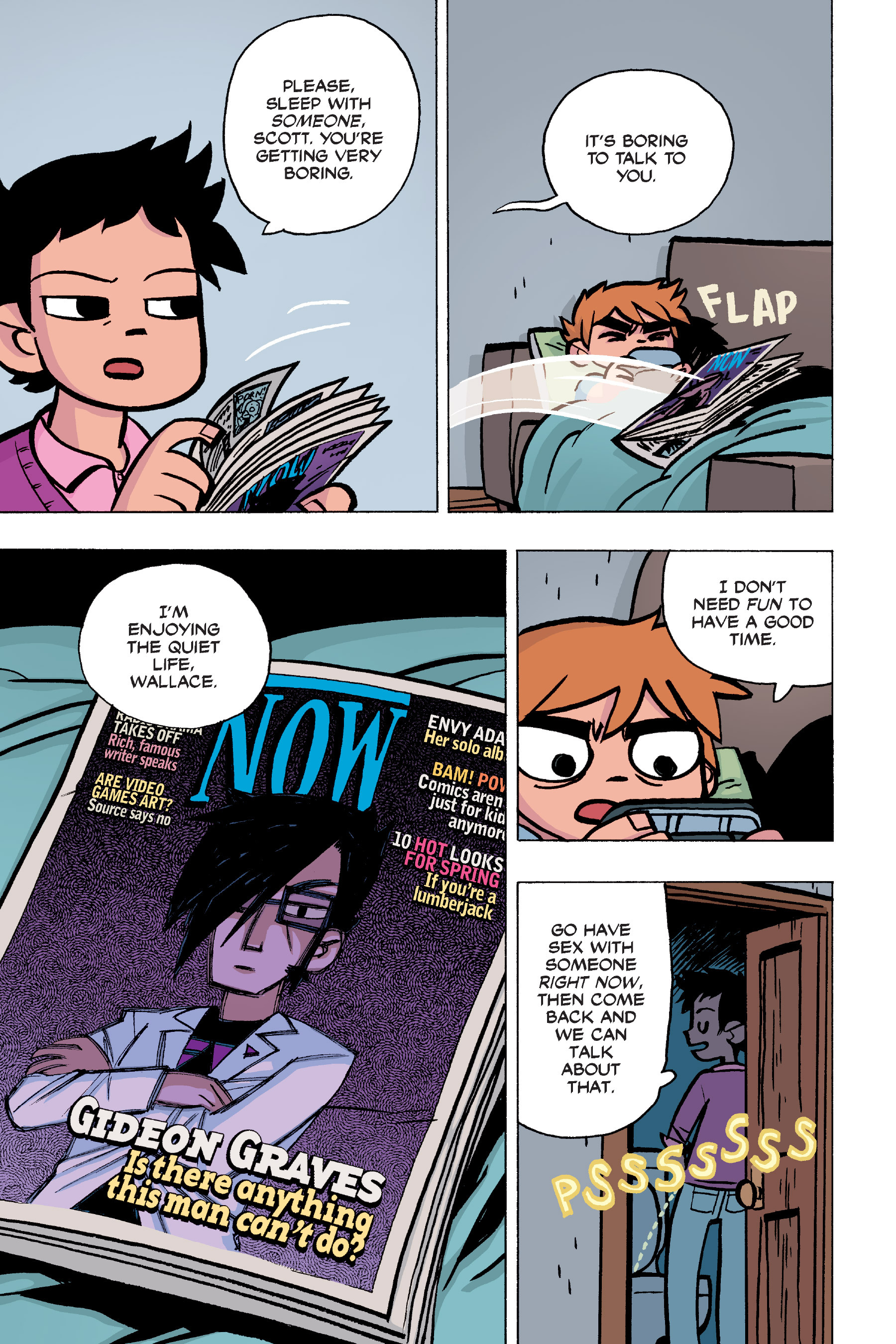 Read online Scott Pilgrim comic -  Issue #6 - 14