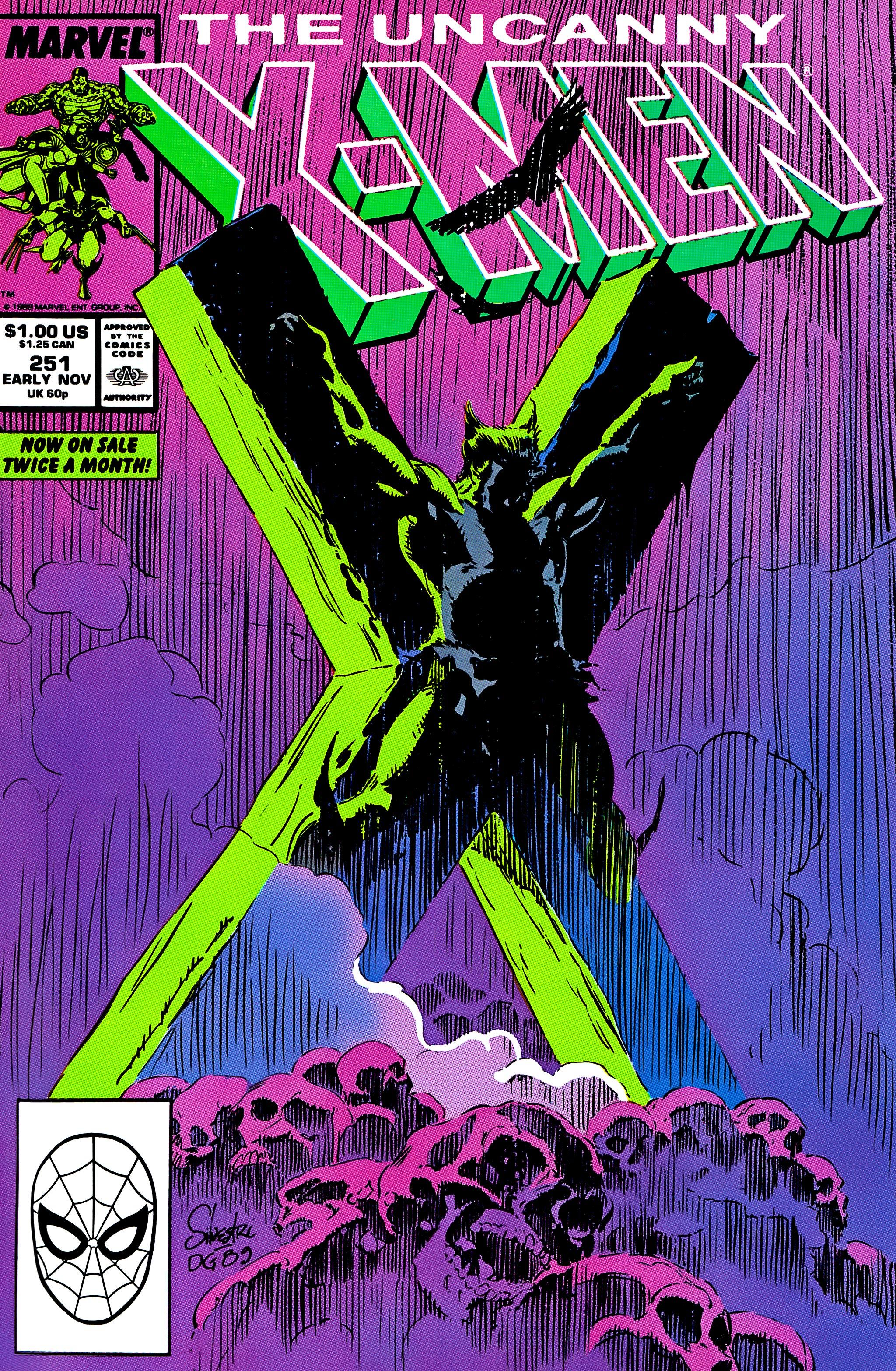 Uncanny X-Men (1963) 251 Page 1