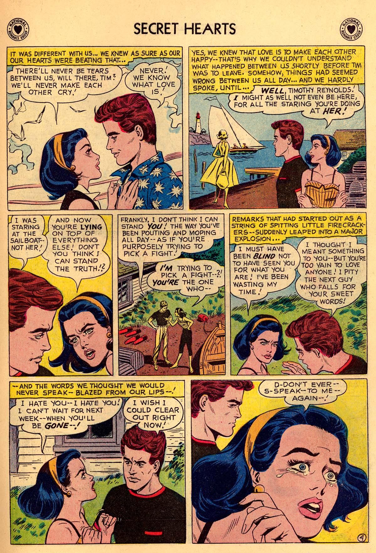 Read online Secret Hearts comic -  Issue #55 - 15