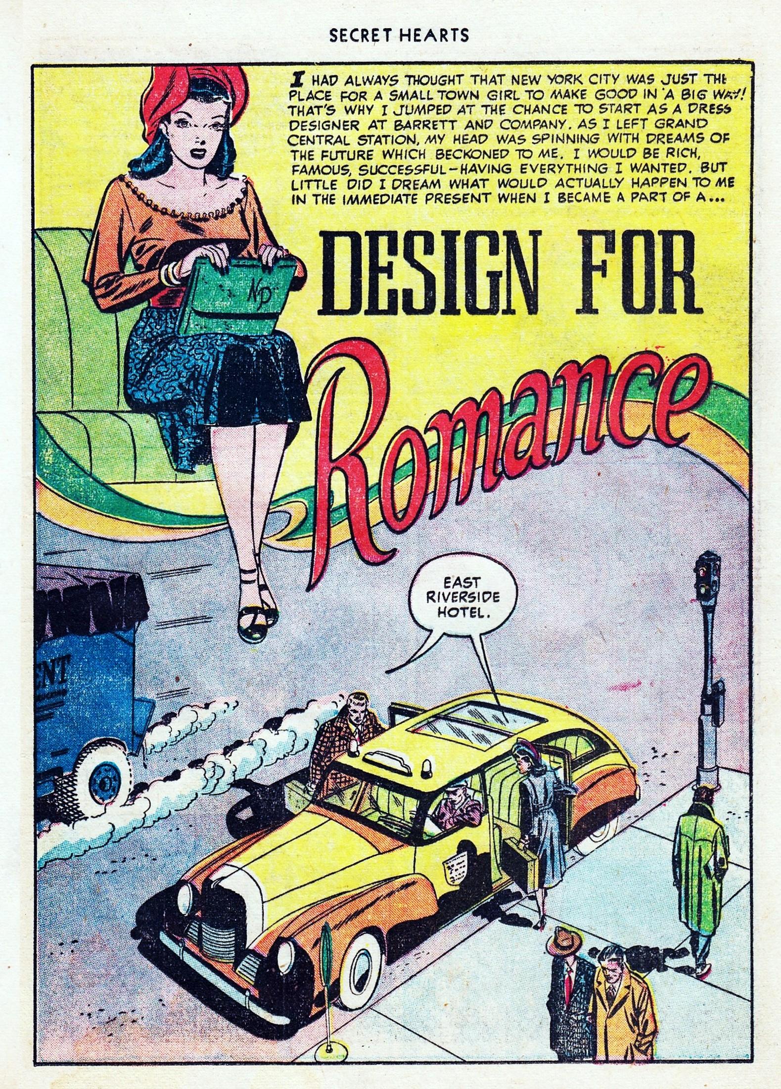 Read online Secret Hearts comic -  Issue #1 - 37