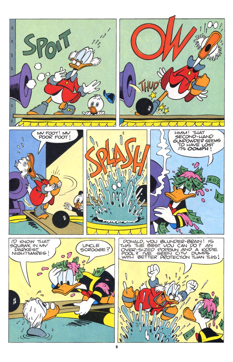Uncle Scrooge (1953) Issue #252 #252 - English 9