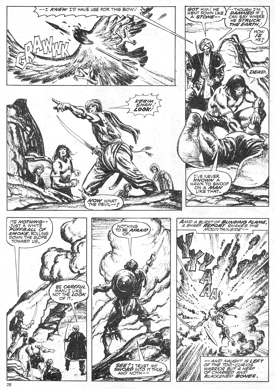 The Savage Sword Of Conan Issue #18 #19 - English 28