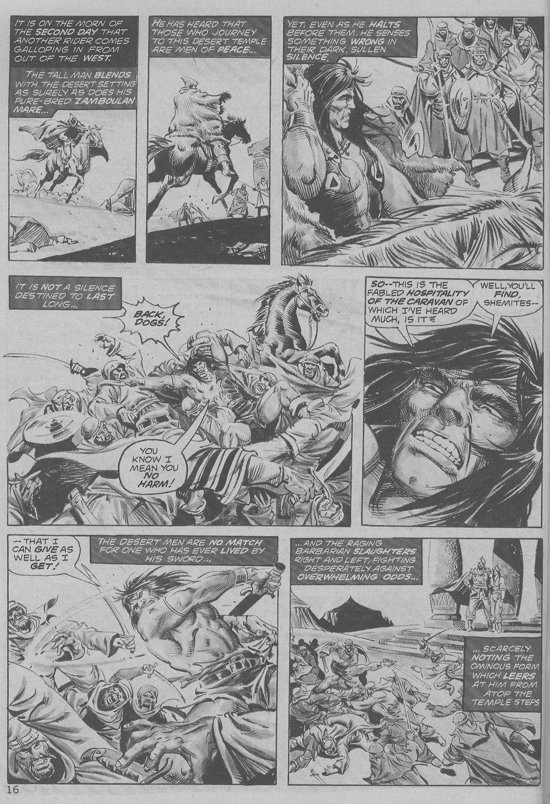 The Savage Sword Of Conan Issue #6 #7 - English 16