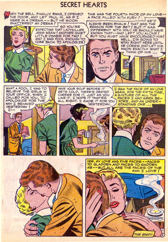 Read online Secret Hearts comic -  Issue #11 - 34