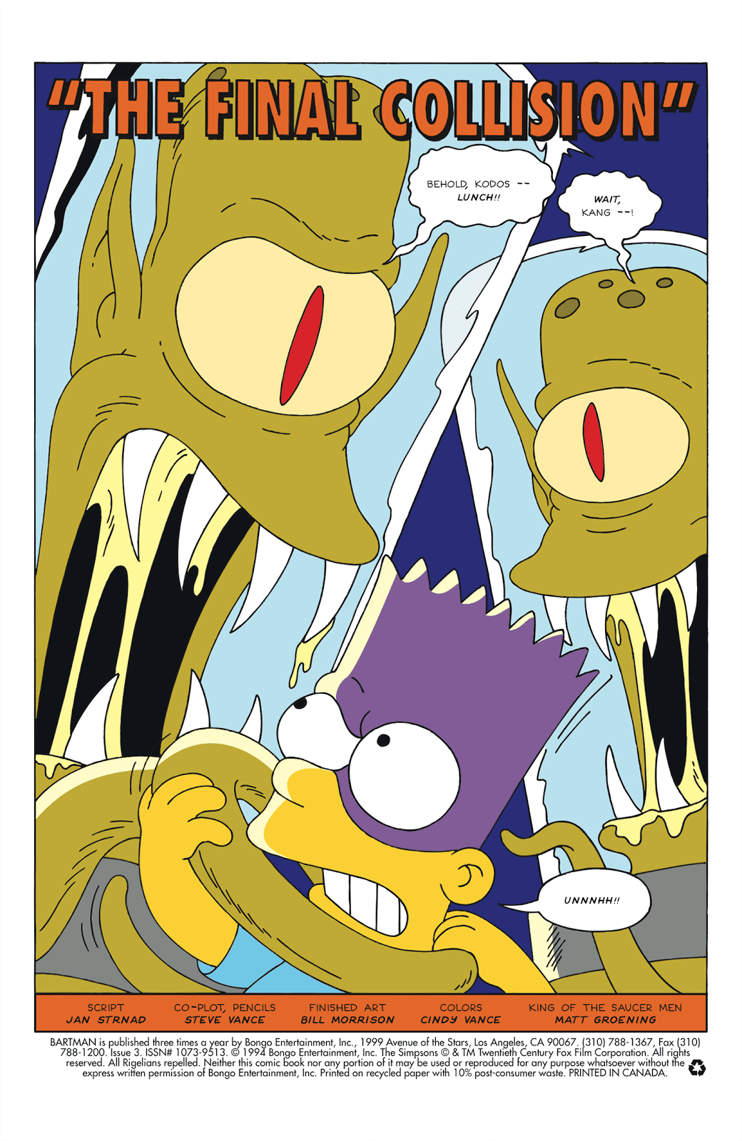 Read online Bartman comic -  Issue #3 - 2
