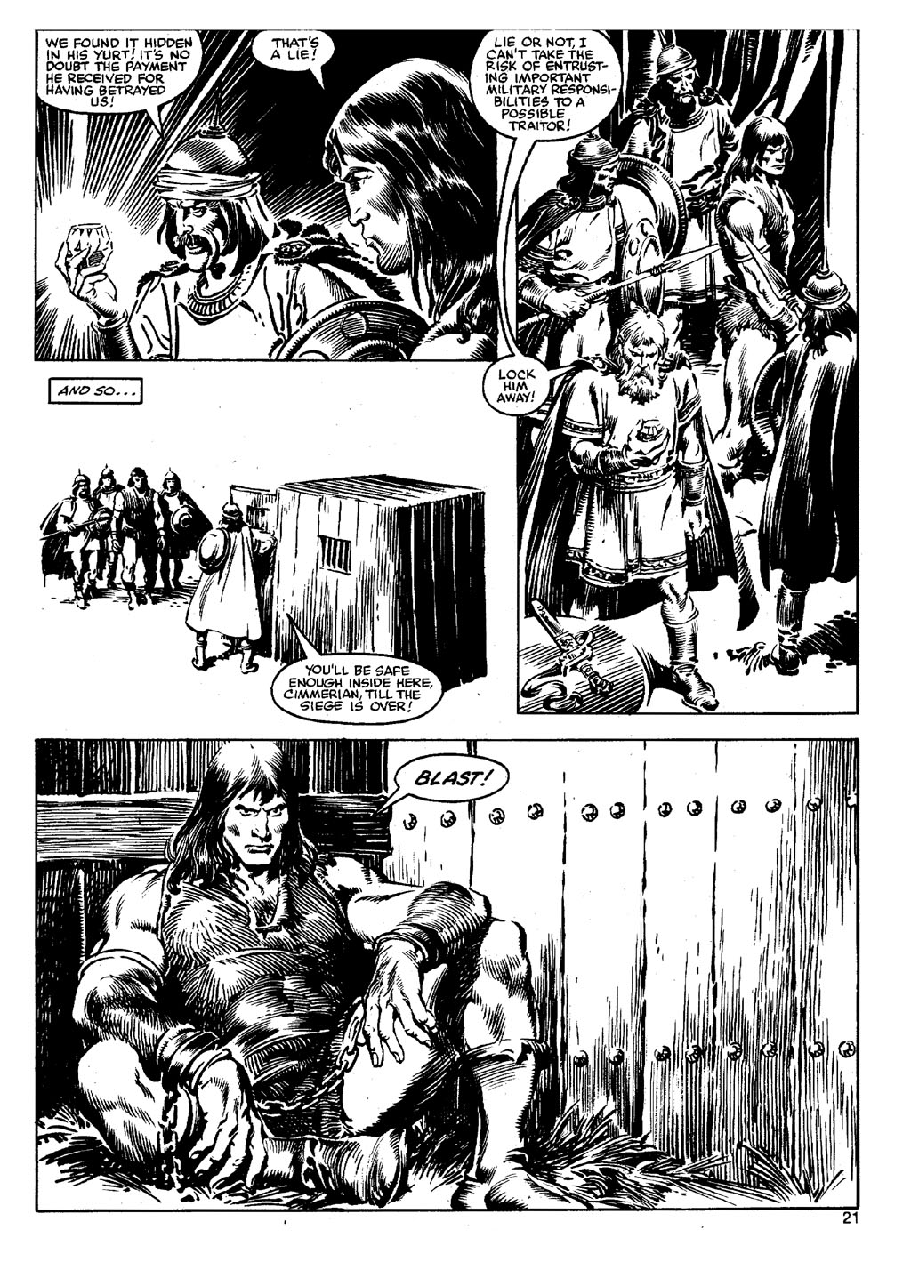 The Savage Sword Of Conan Issue #90 #91 - English 20