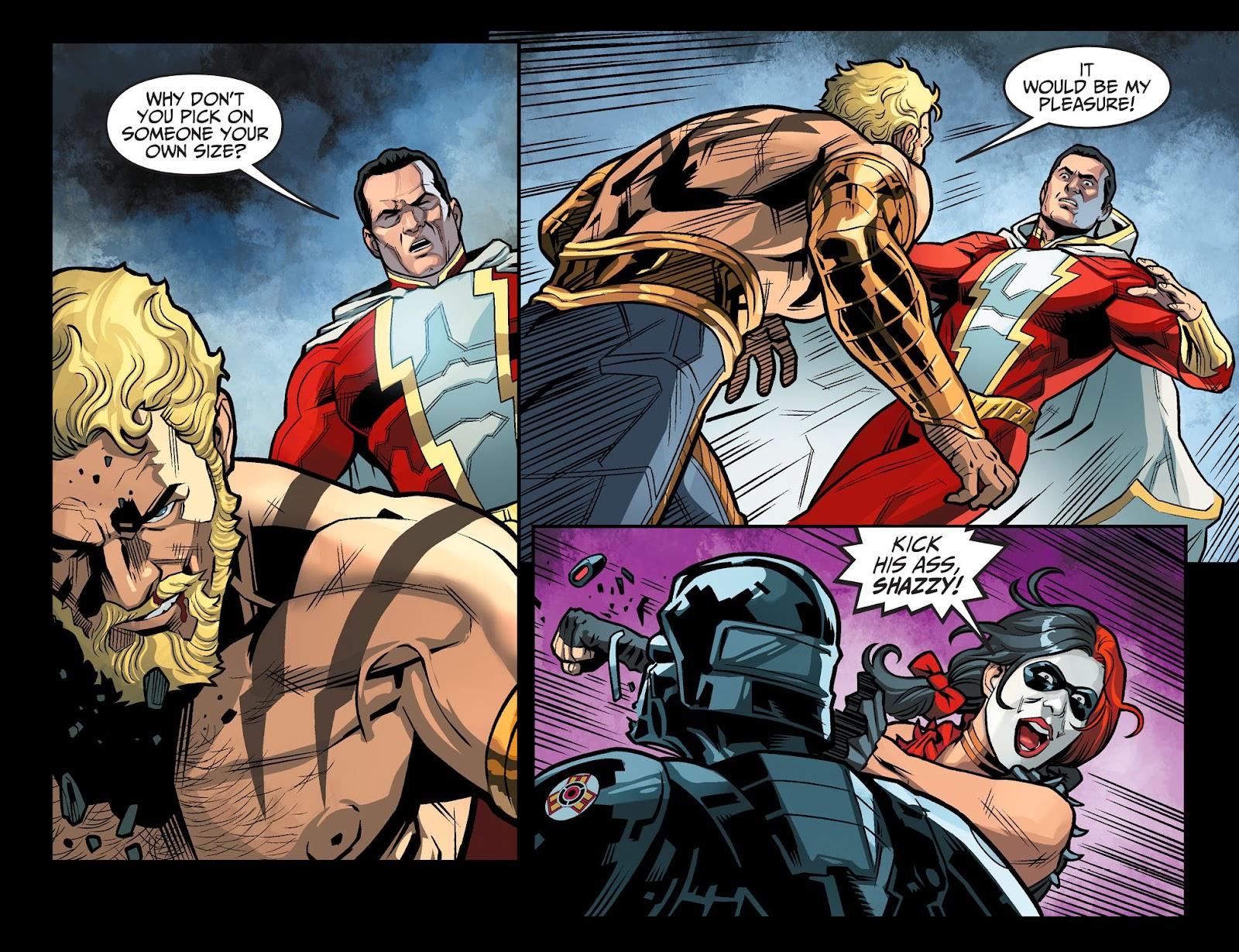 Injustice: Gods Among Us Year Four Issue #13 #14 - English 11