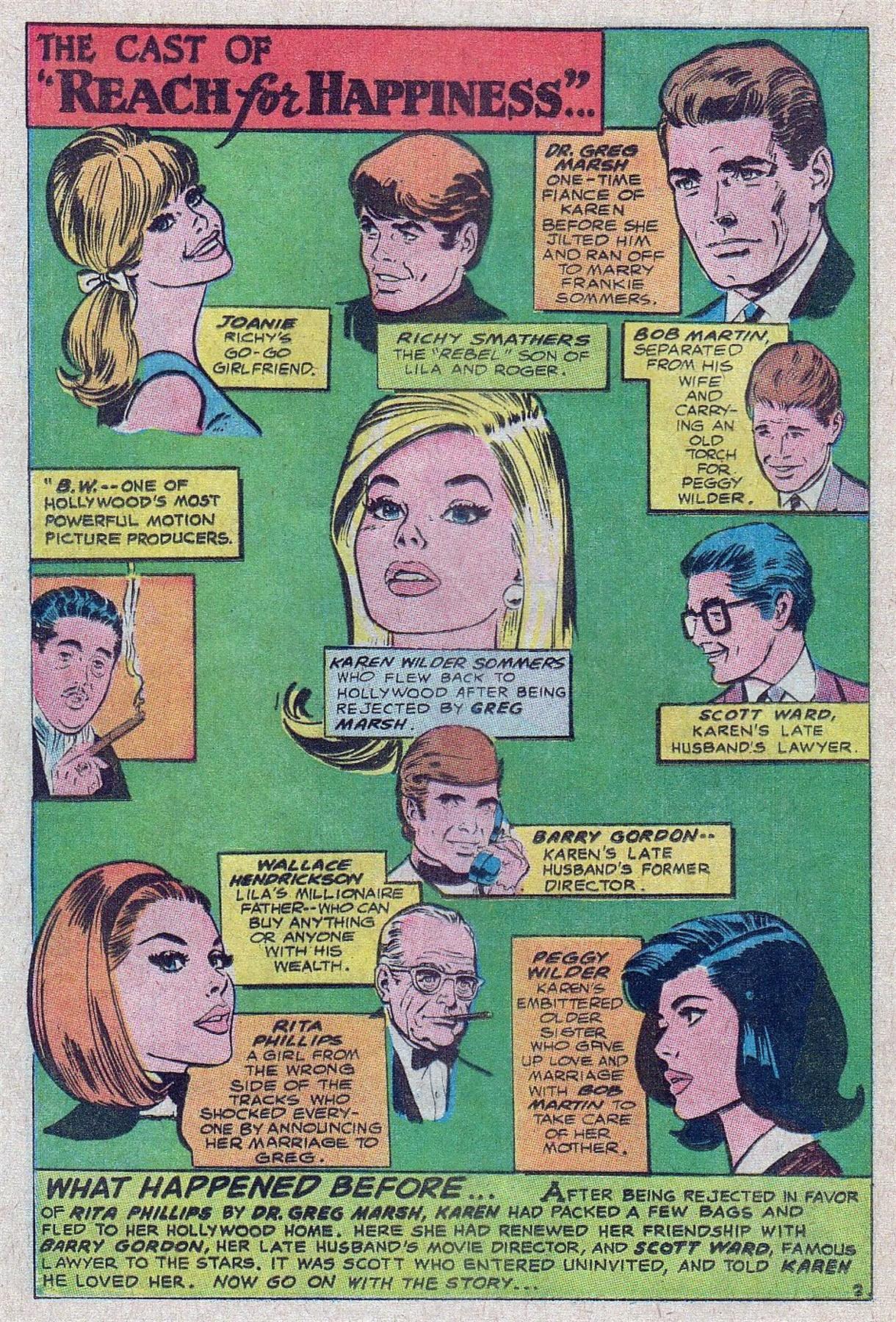 Read online Secret Hearts comic -  Issue #129 - 20