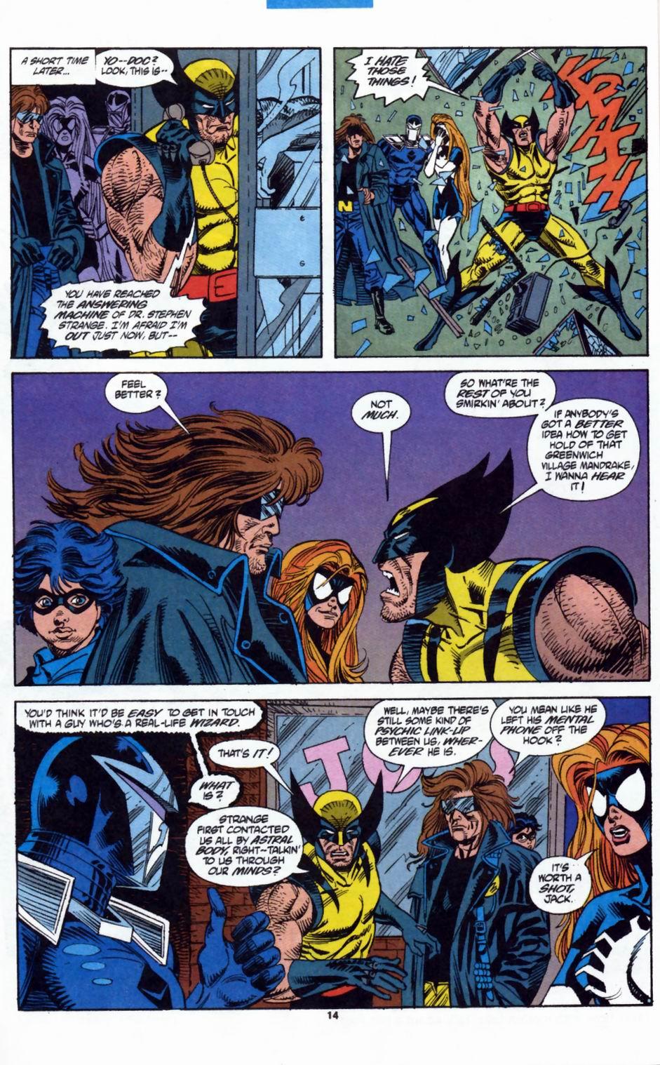 Read online Secret Defenders comic -  Issue #2 - 11