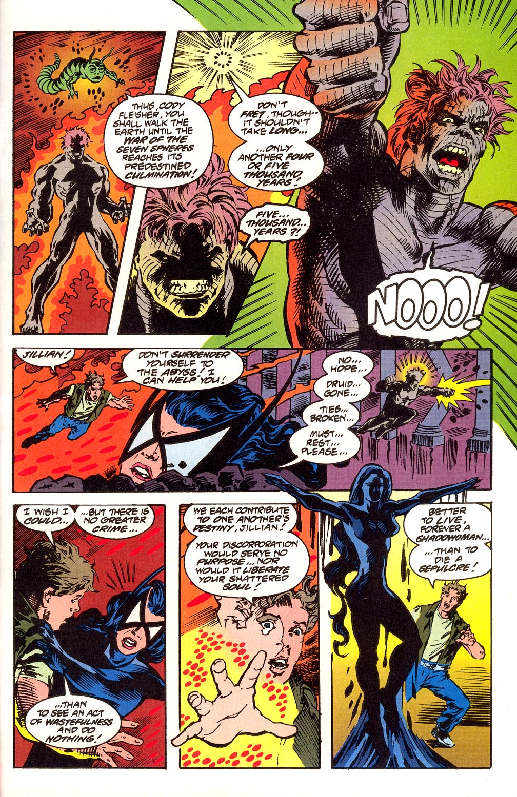 Read online Secret Defenders comic -  Issue #25 - 33