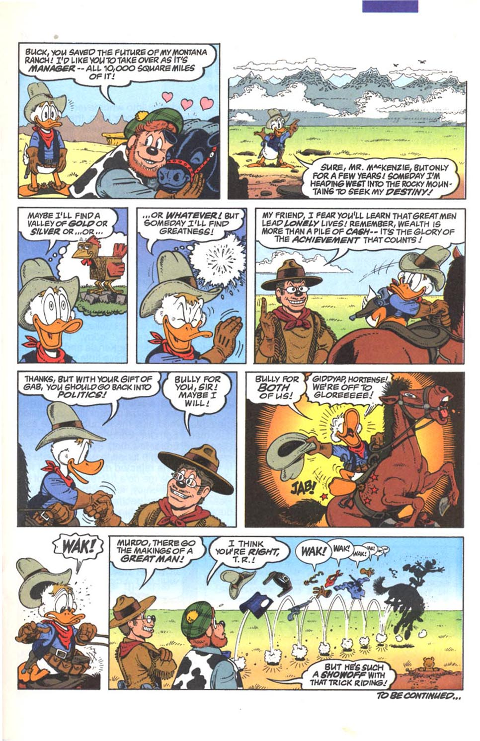 Uncle Scrooge (1953) Issue #287 #287 - English 16