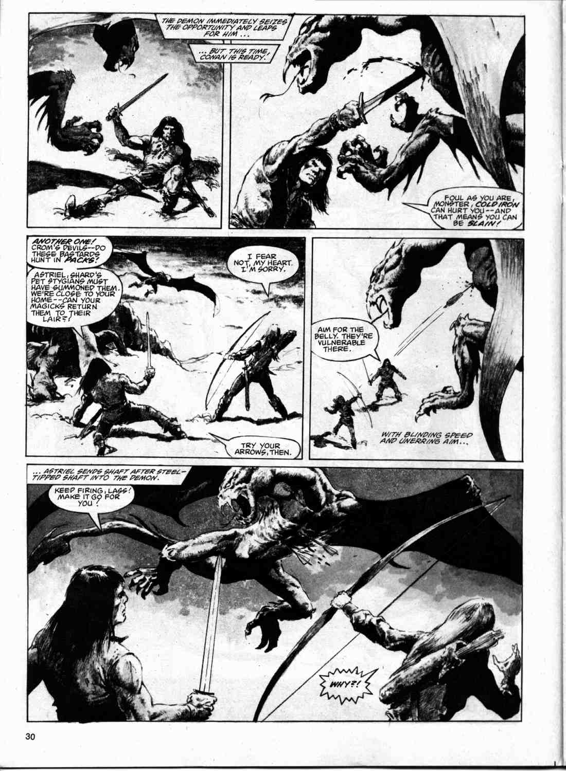 The Savage Sword Of Conan Issue #74 #75 - English 29